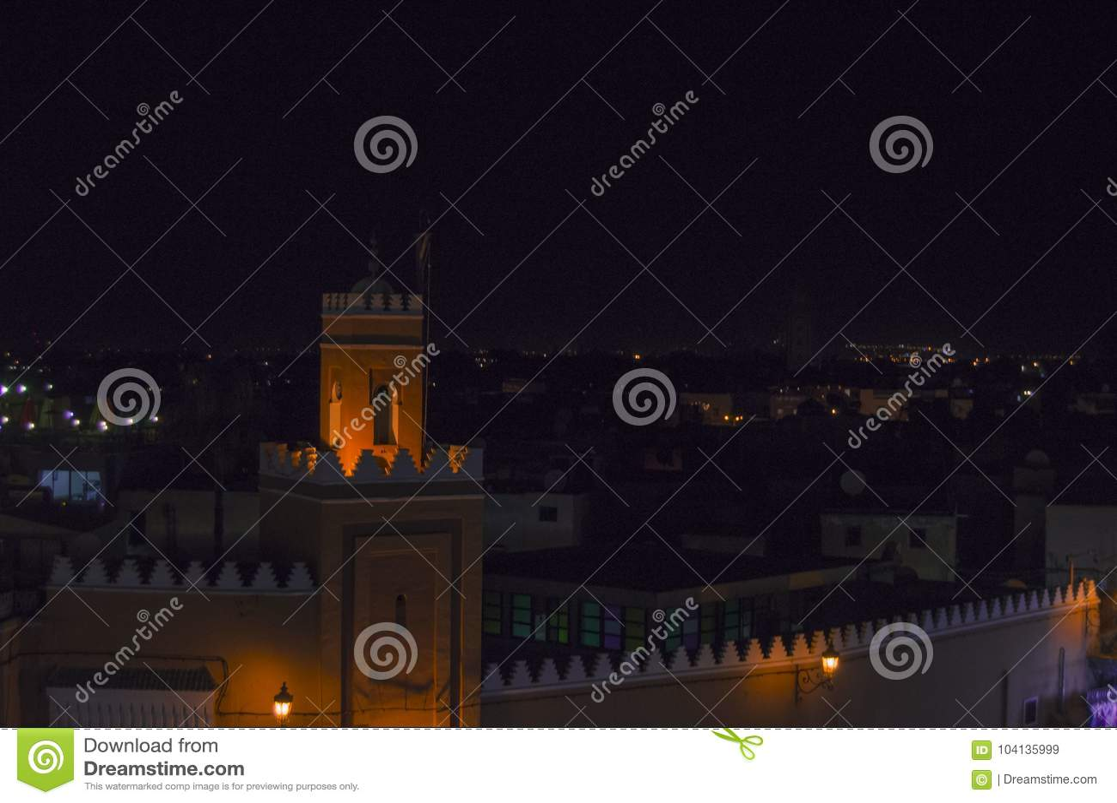 Straße, Marokko, Blau, Medina, Marrakesch