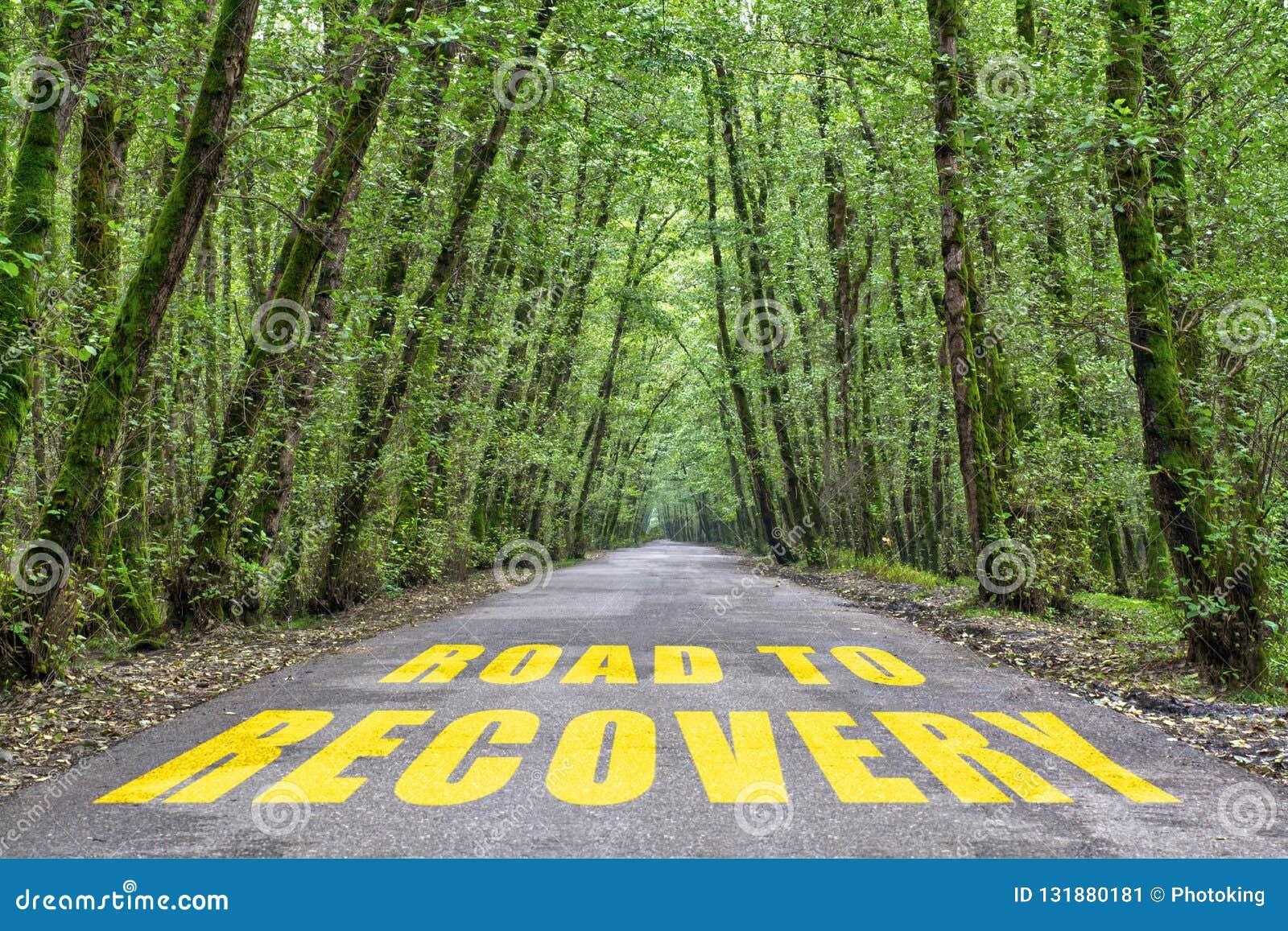 Straße zum Wiederanlauf