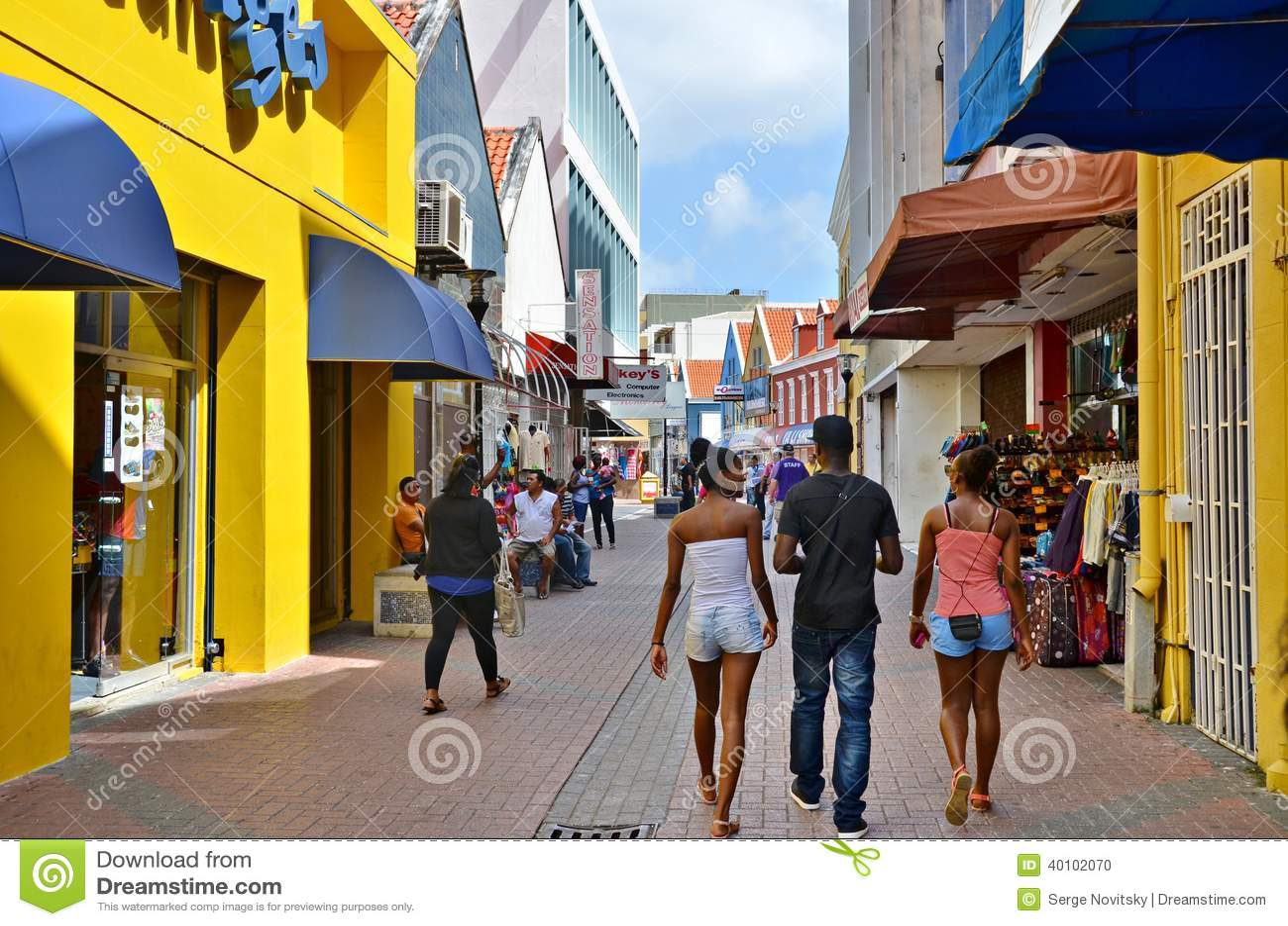 Straßen von Curaçao