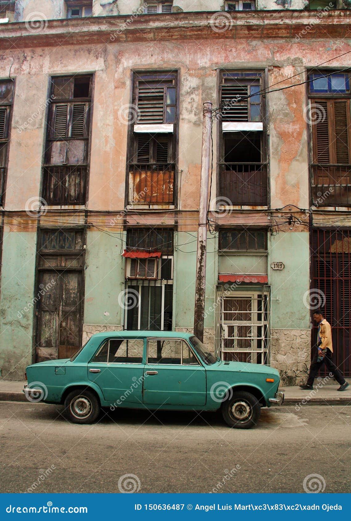 Straßen von La Habana Kuba