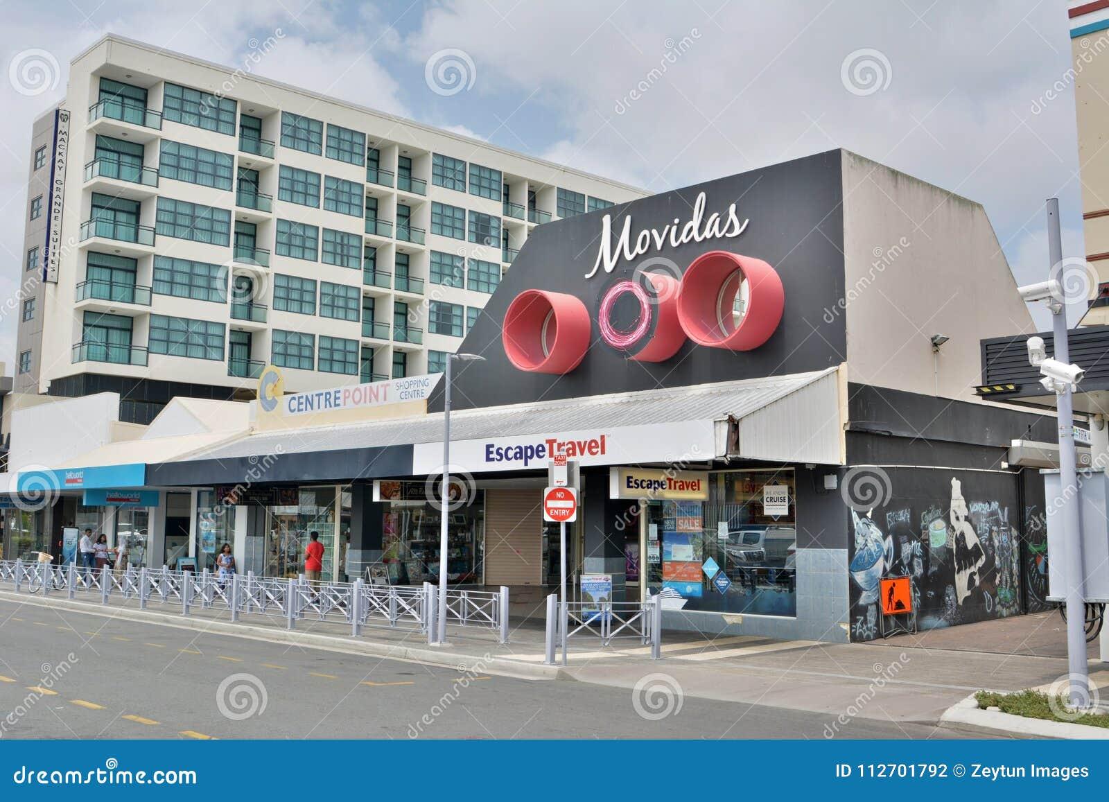 Straßenansicht in Mackay, Australien