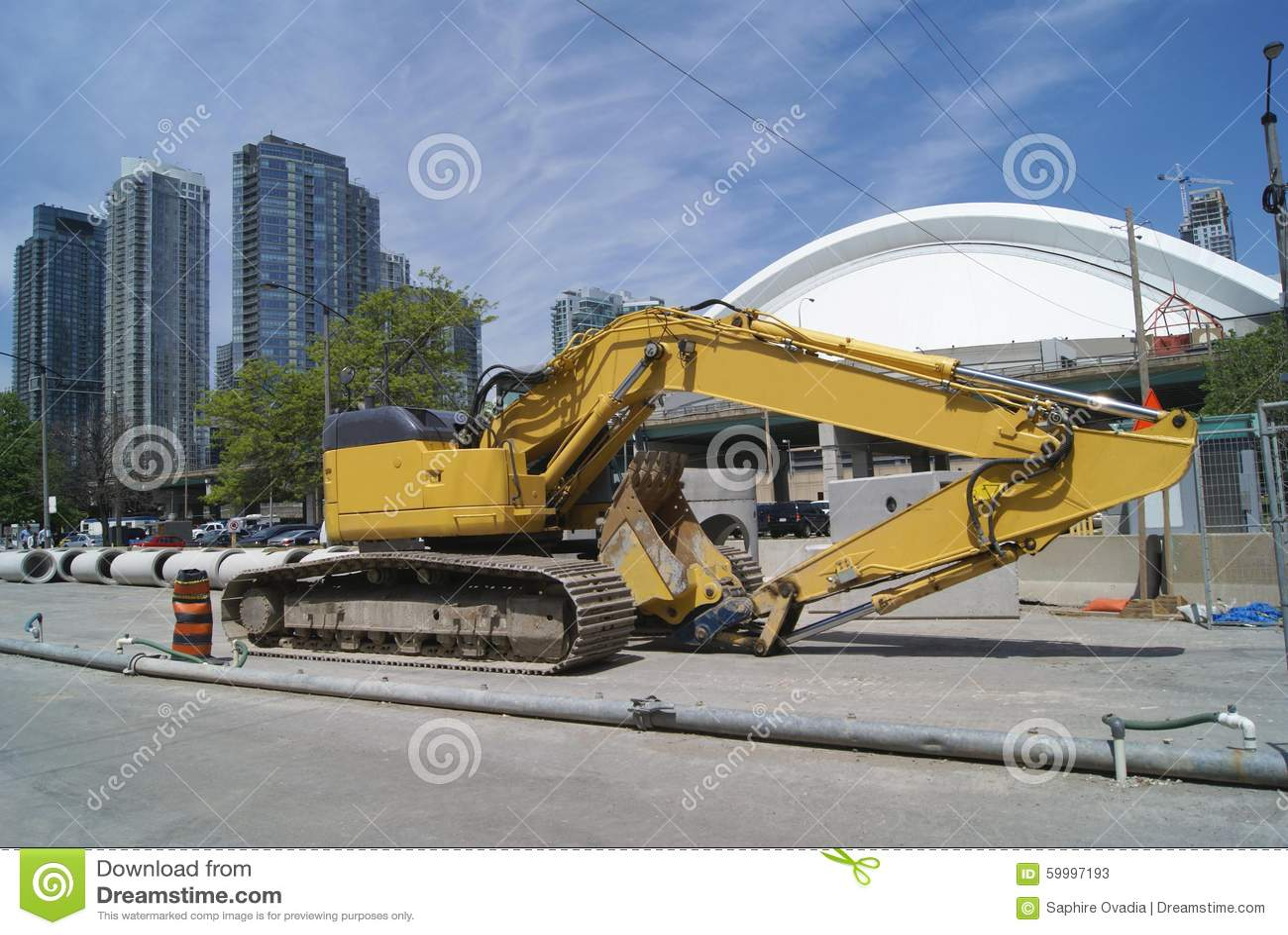 Straßenarbeitenfahrzeug Hydraulischer Exkavator Straßenarbeitengräber