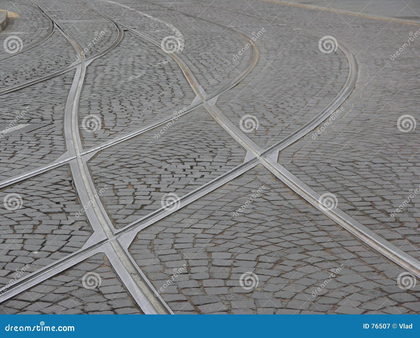 Straßenbahn-Spuren