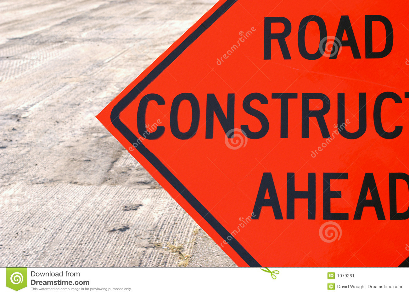 Straßenbau voran