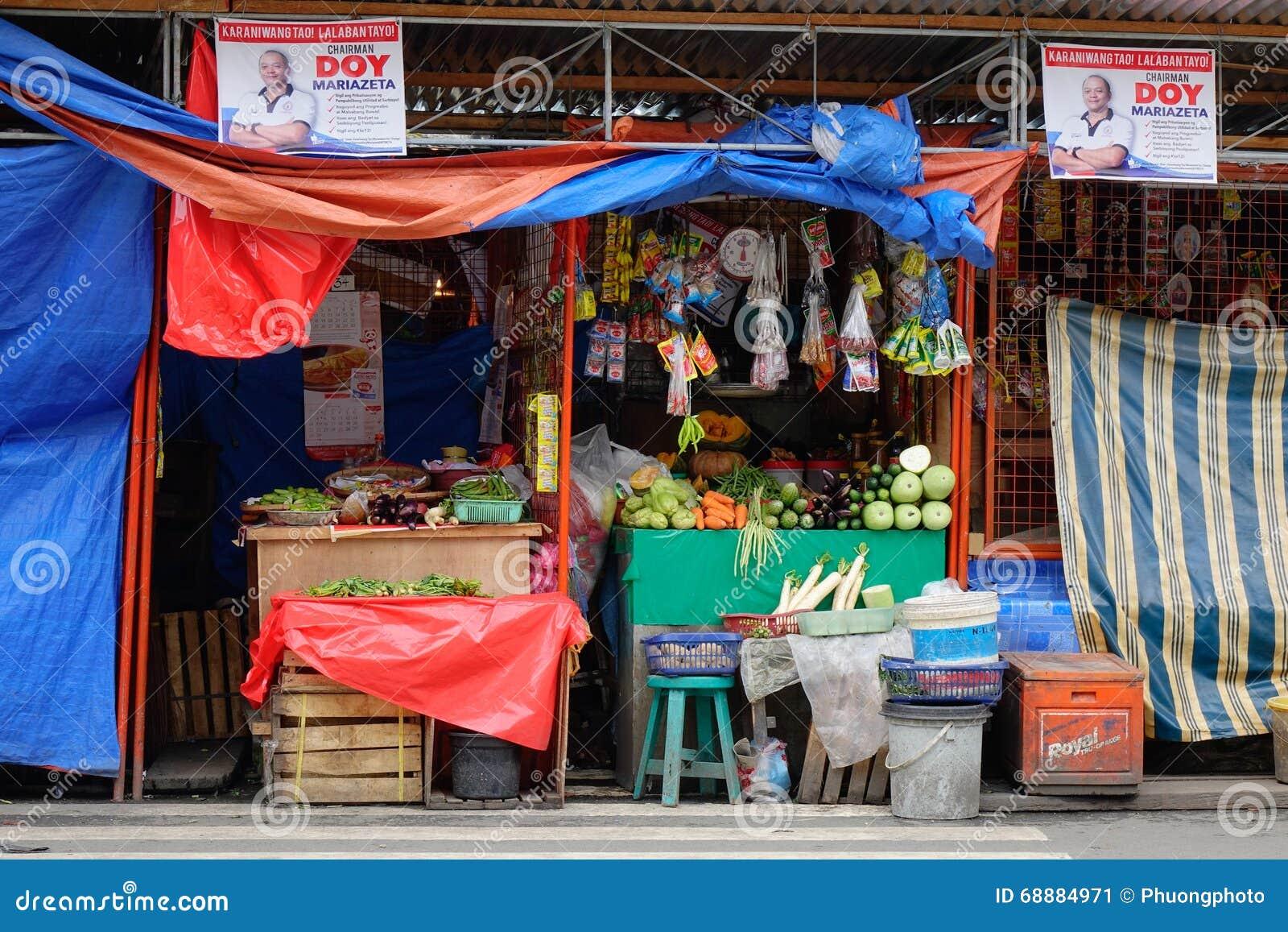 Straßenleben in Manila, Philippinen