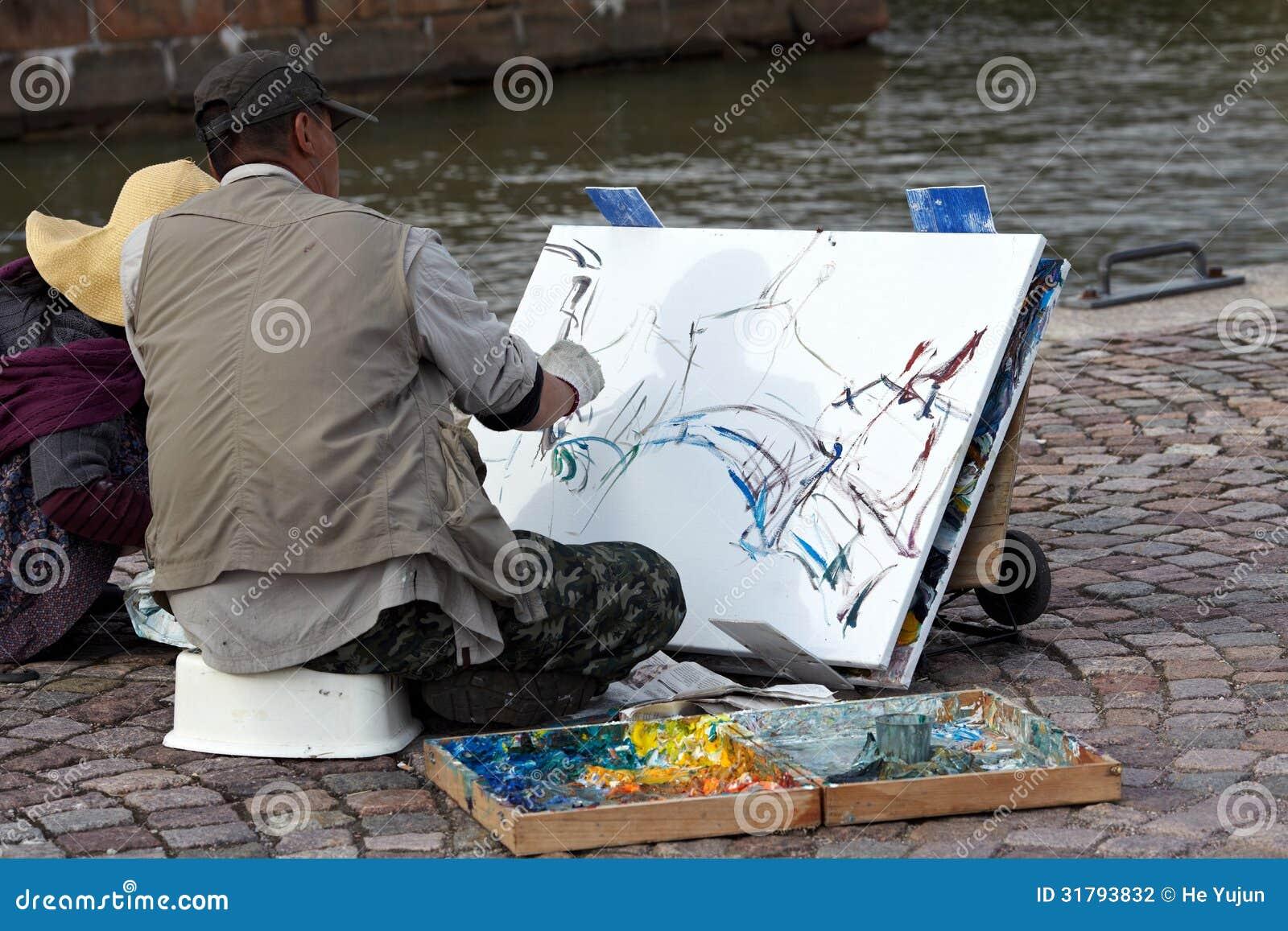 Straßenzeichnungen redaktionelles stockfotografie. Bild von kreide ...