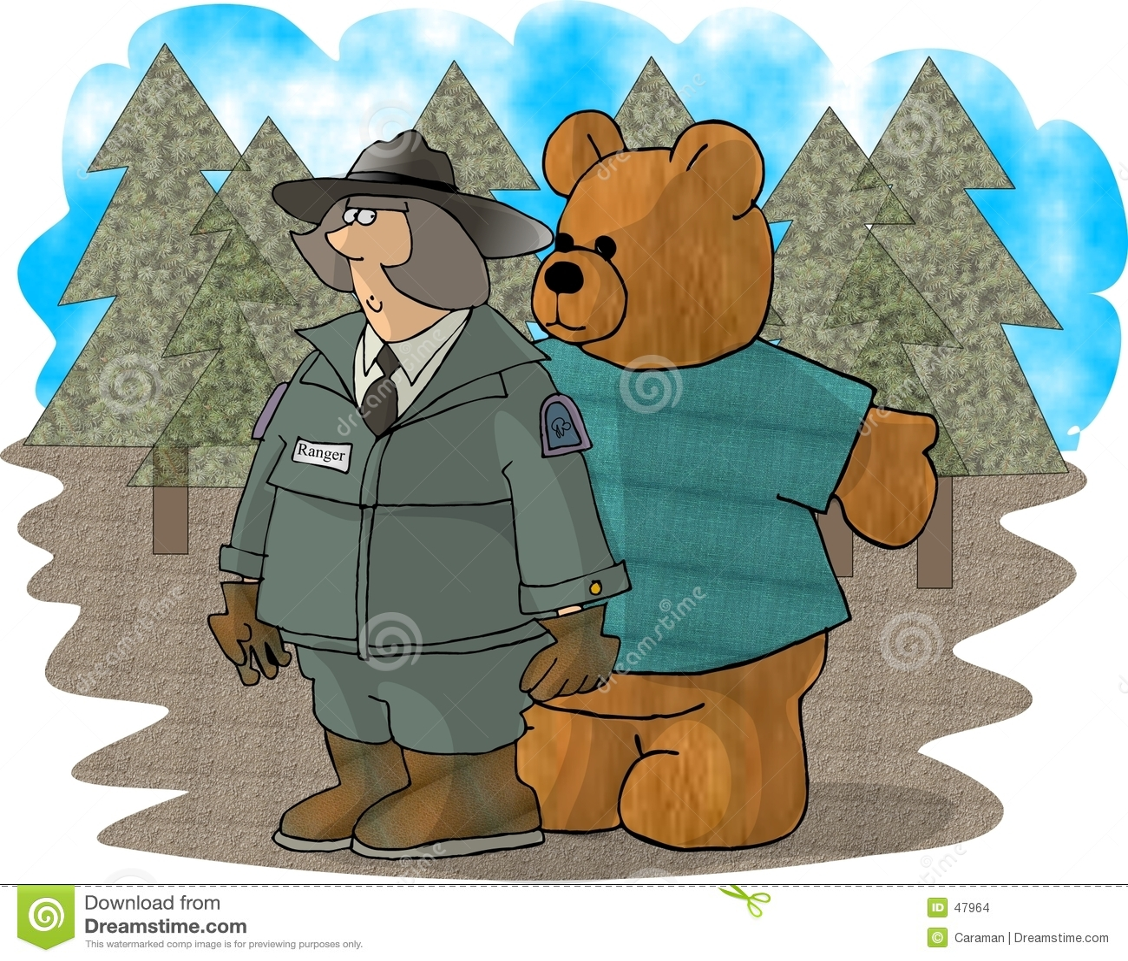 Strażniku leśny bear