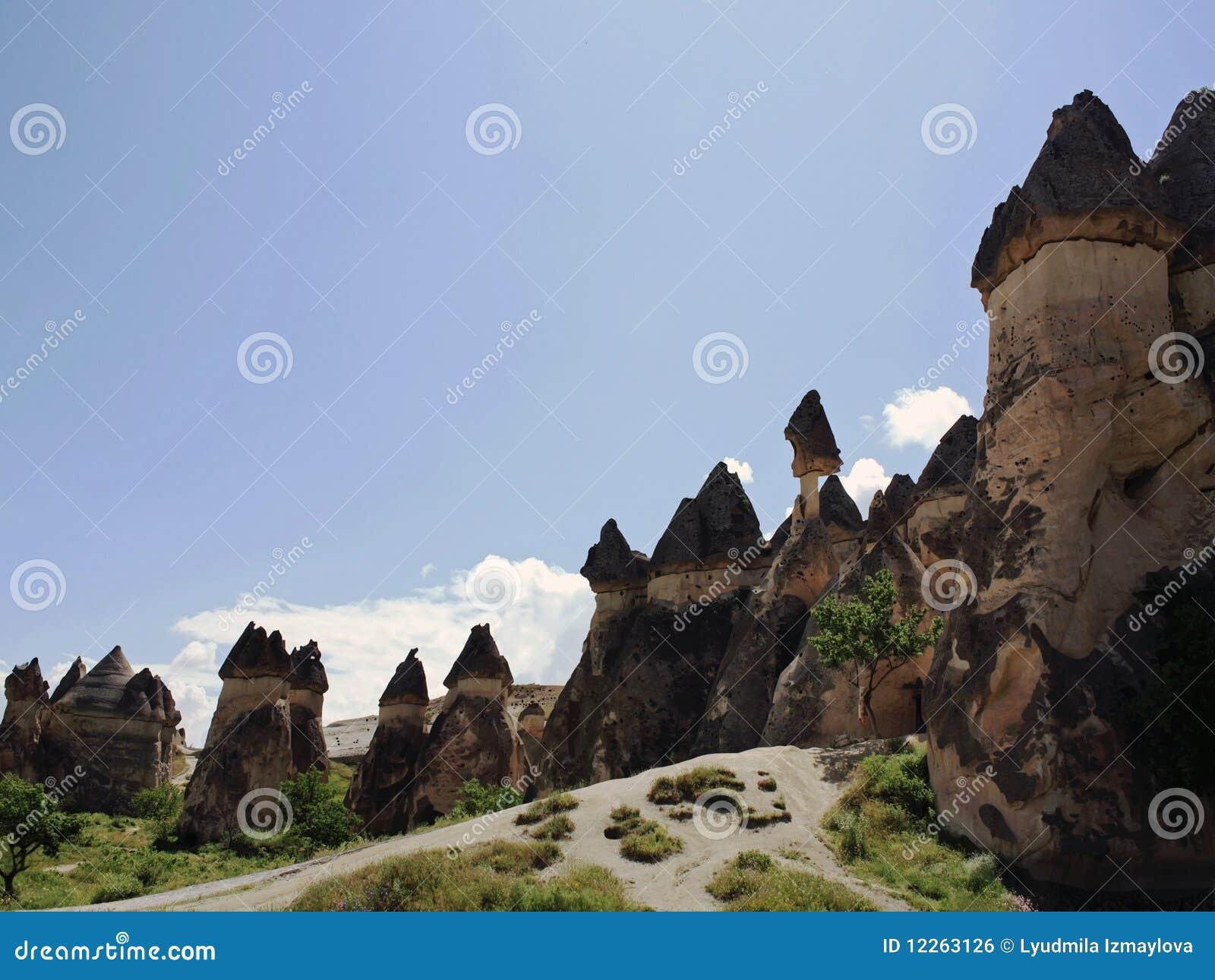 Straat in Cappadocia