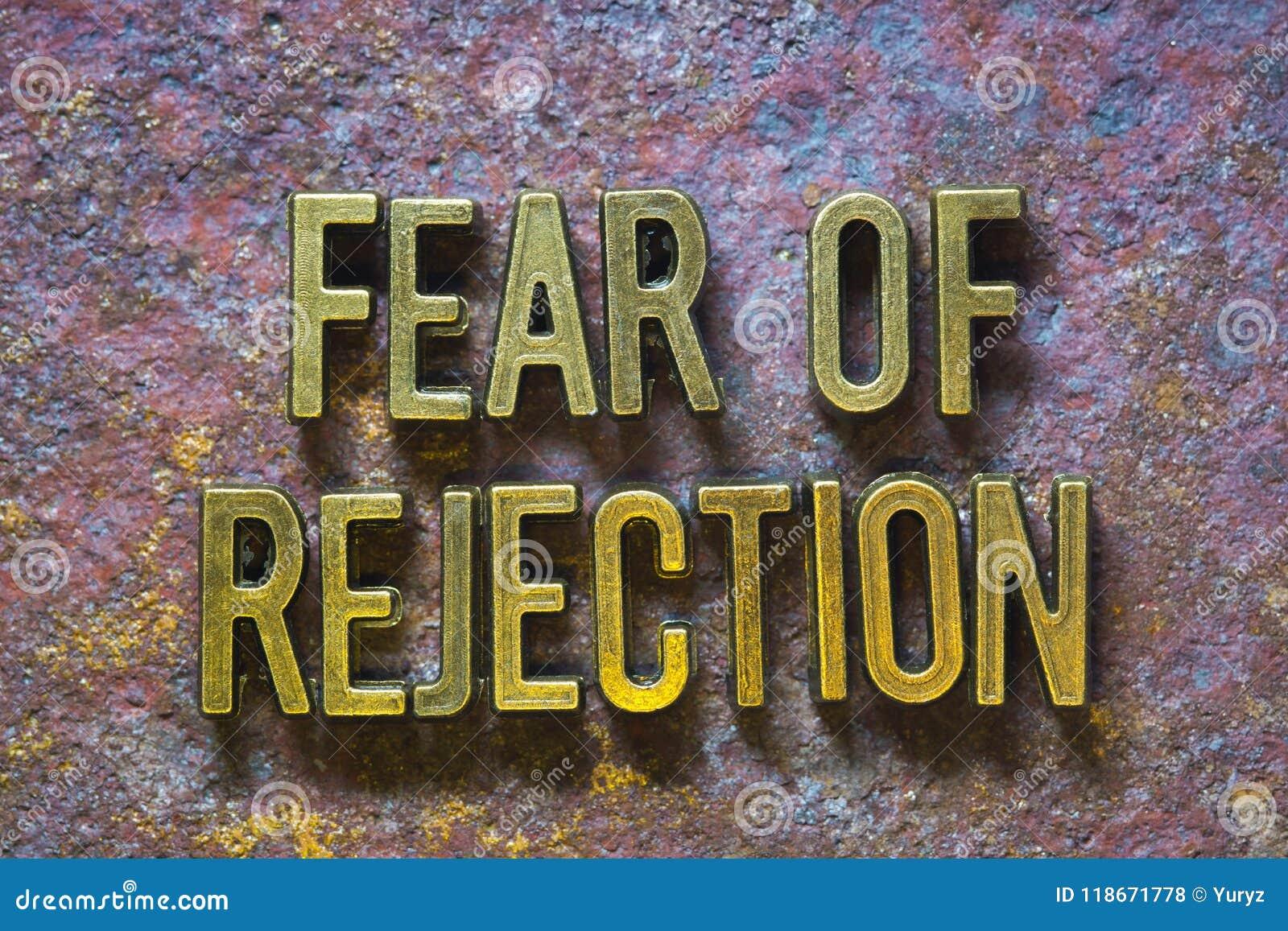 Strach odrzucenie