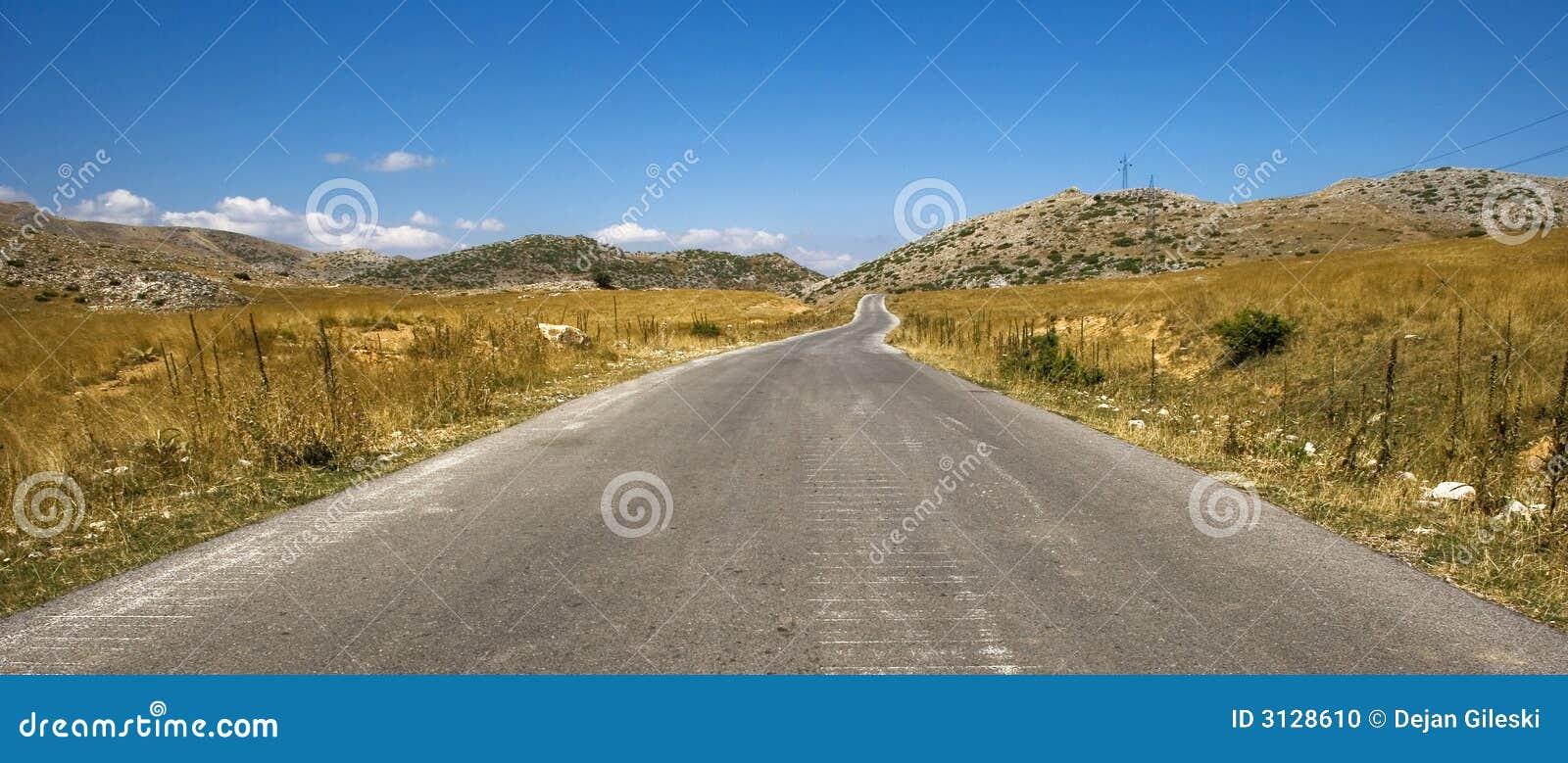 Strada alla montagna