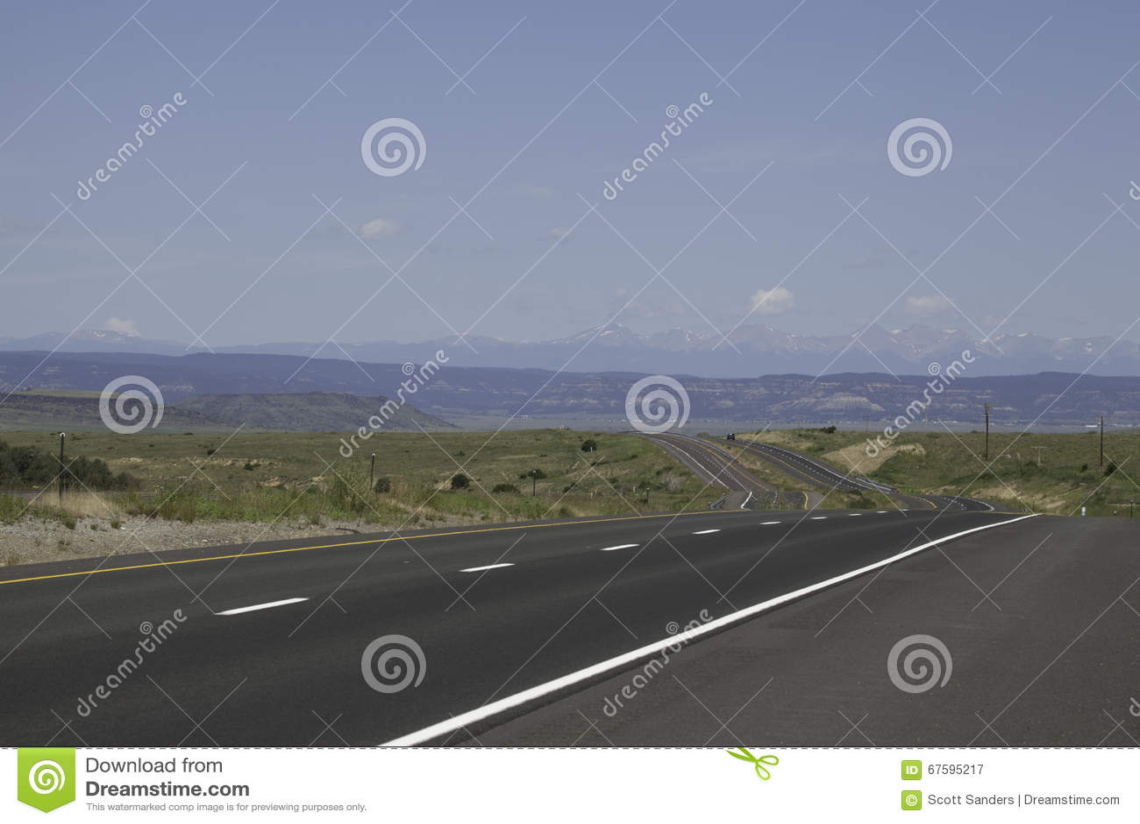 Strada alle montagne