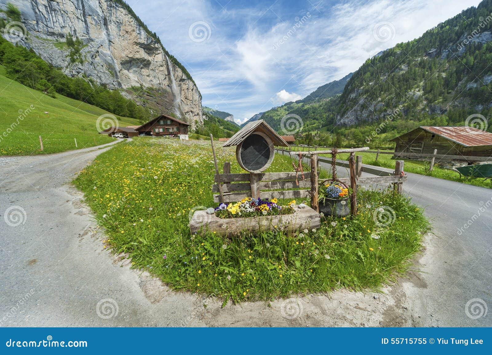 Strada campestre in svizzero