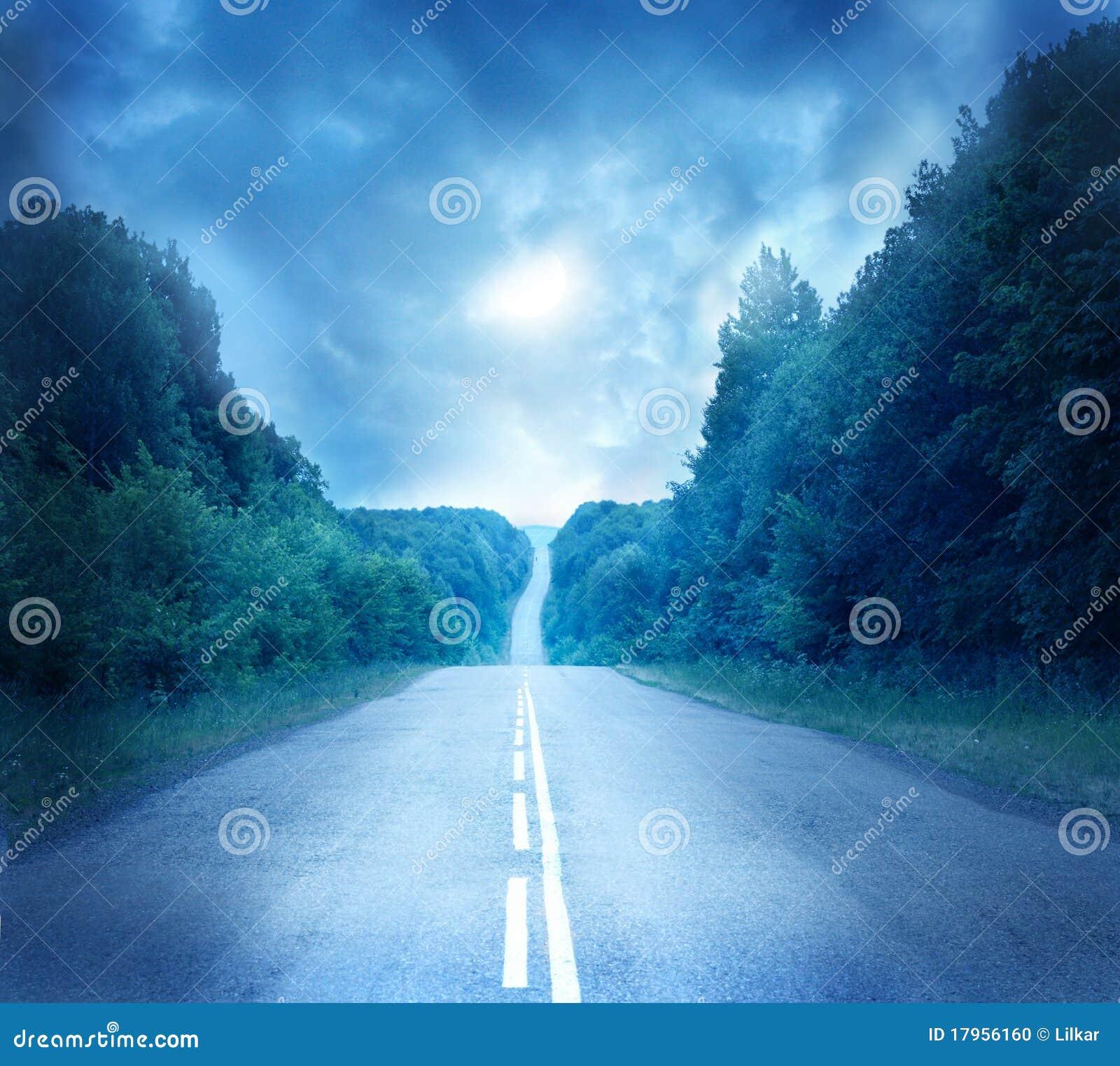 Strada della luna