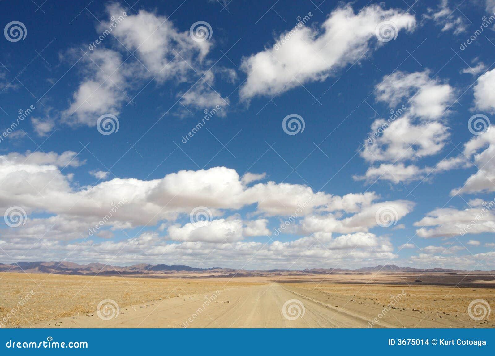 Download Strada infinita fotografia stock. Immagine di africa, alone - 3675014