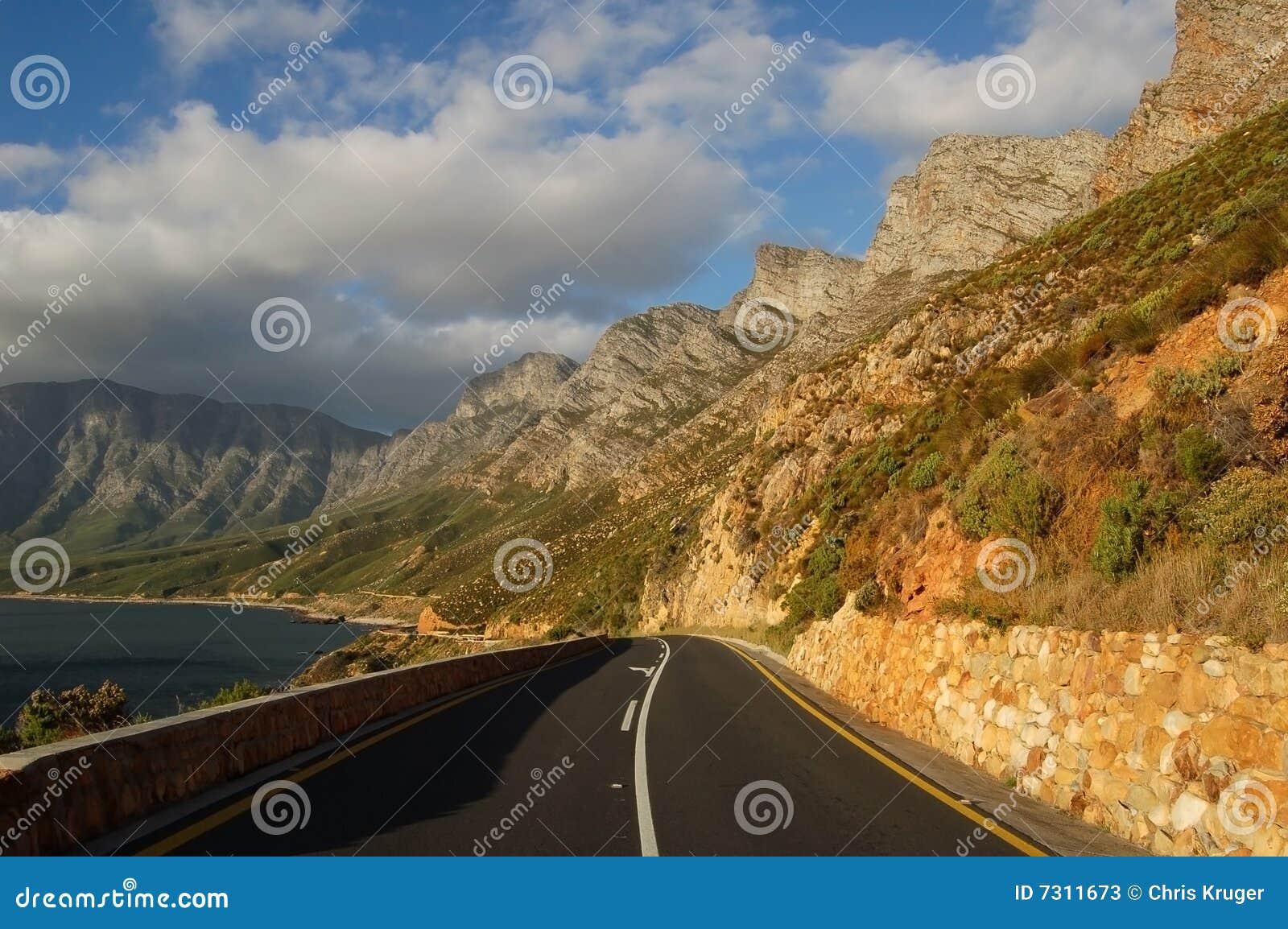 Strada litoranea della baia falsa, Sudafrica