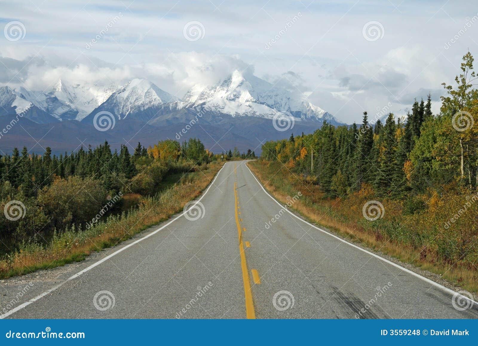 Strada principale d Alasca