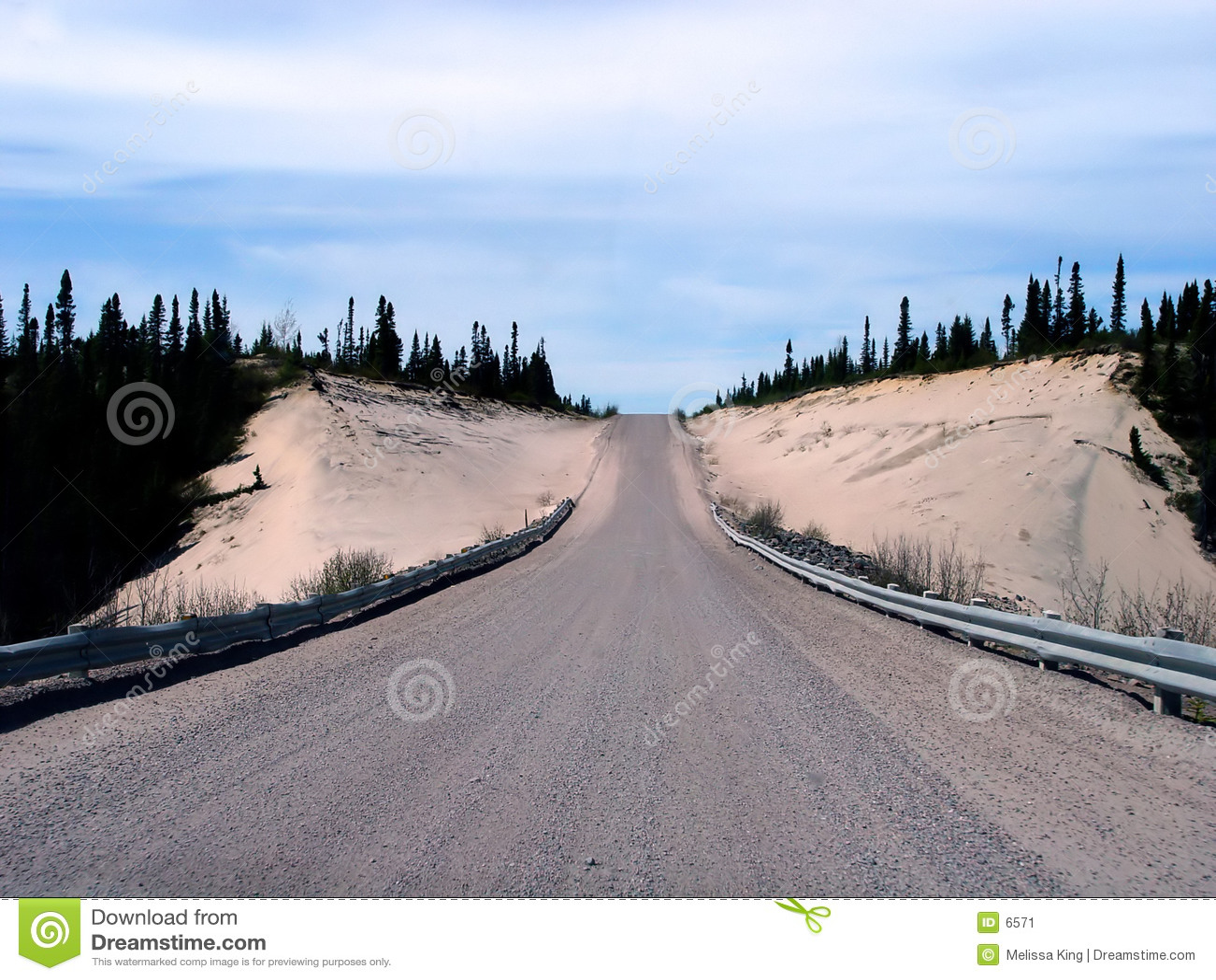Strada principale del trasporto Labrador