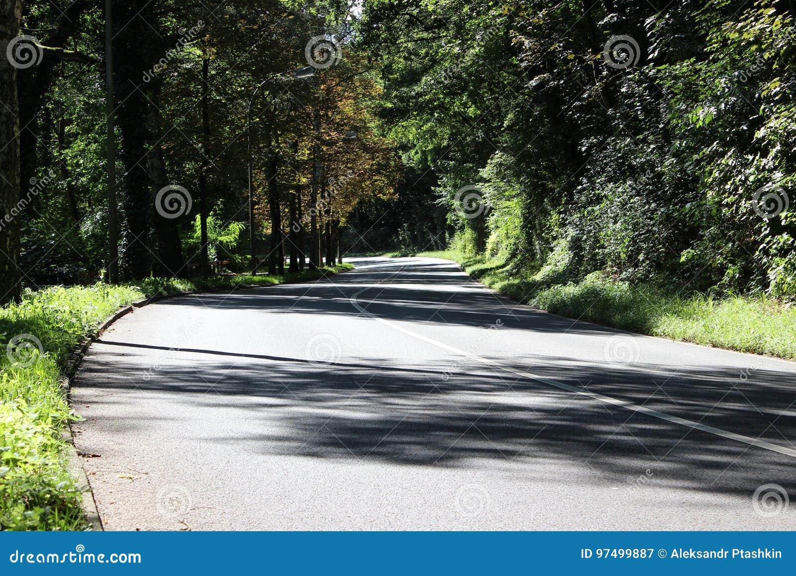 Strada principale in Germania