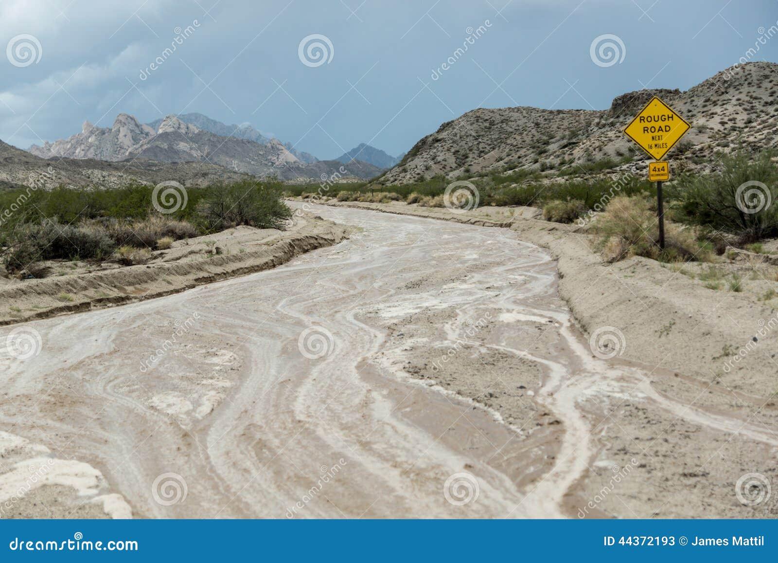 Strada ruvida, il maltempo