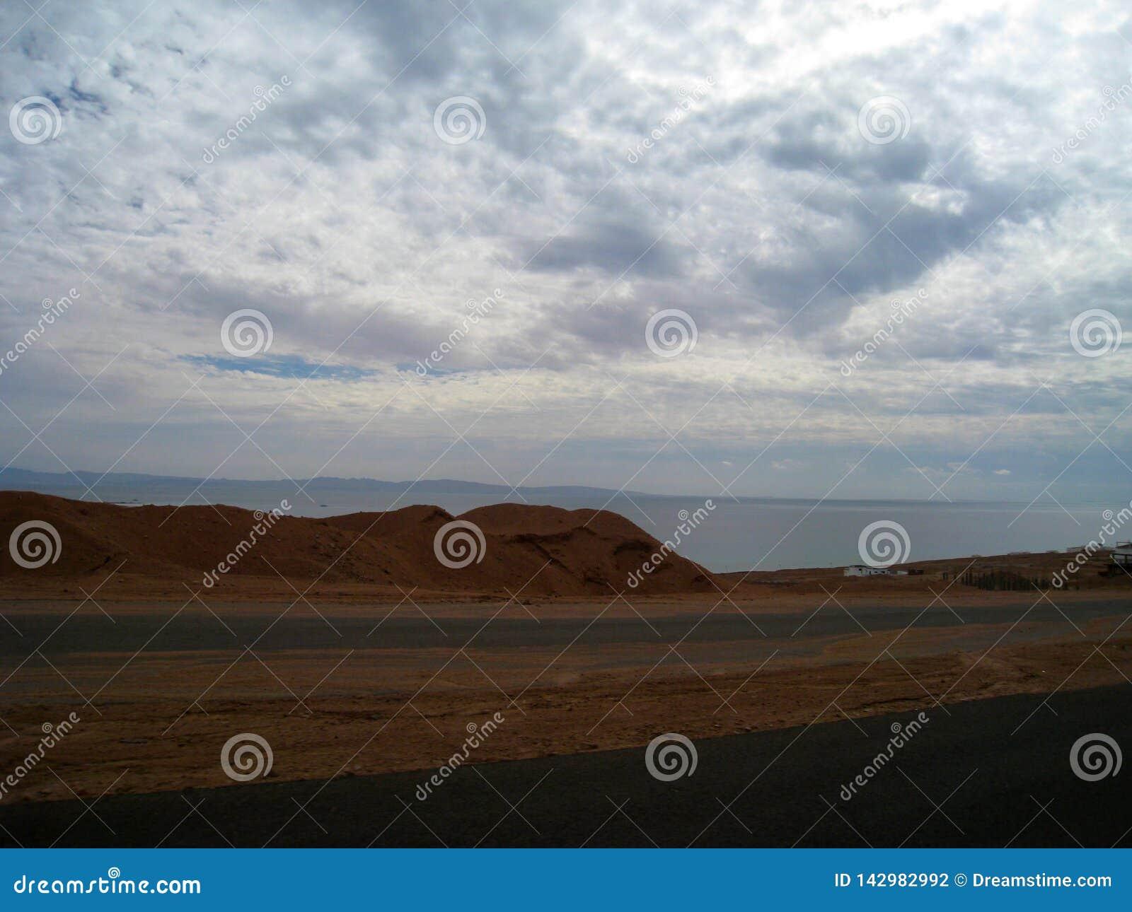 Strada a Sharm el-Sheikh, Egitto, Sinai del sud