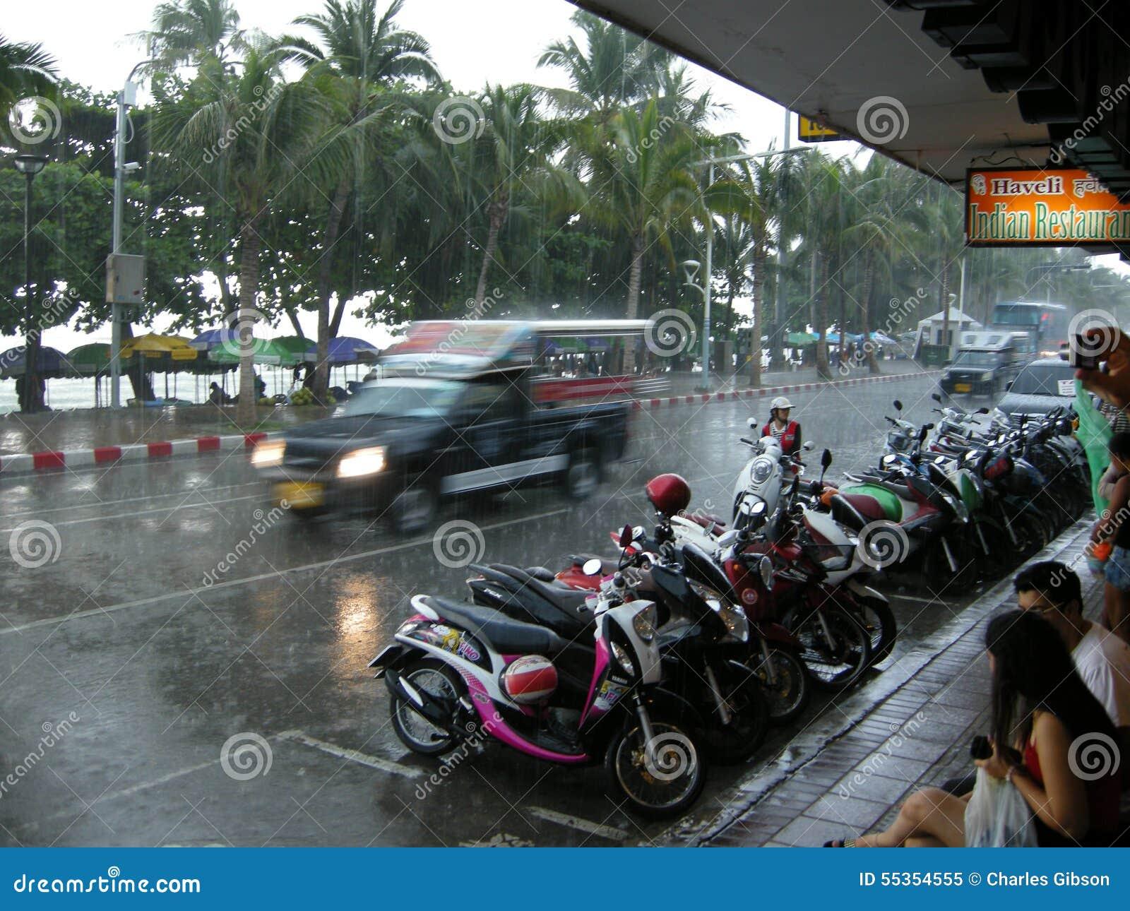 Strade sommerse, Pattaya