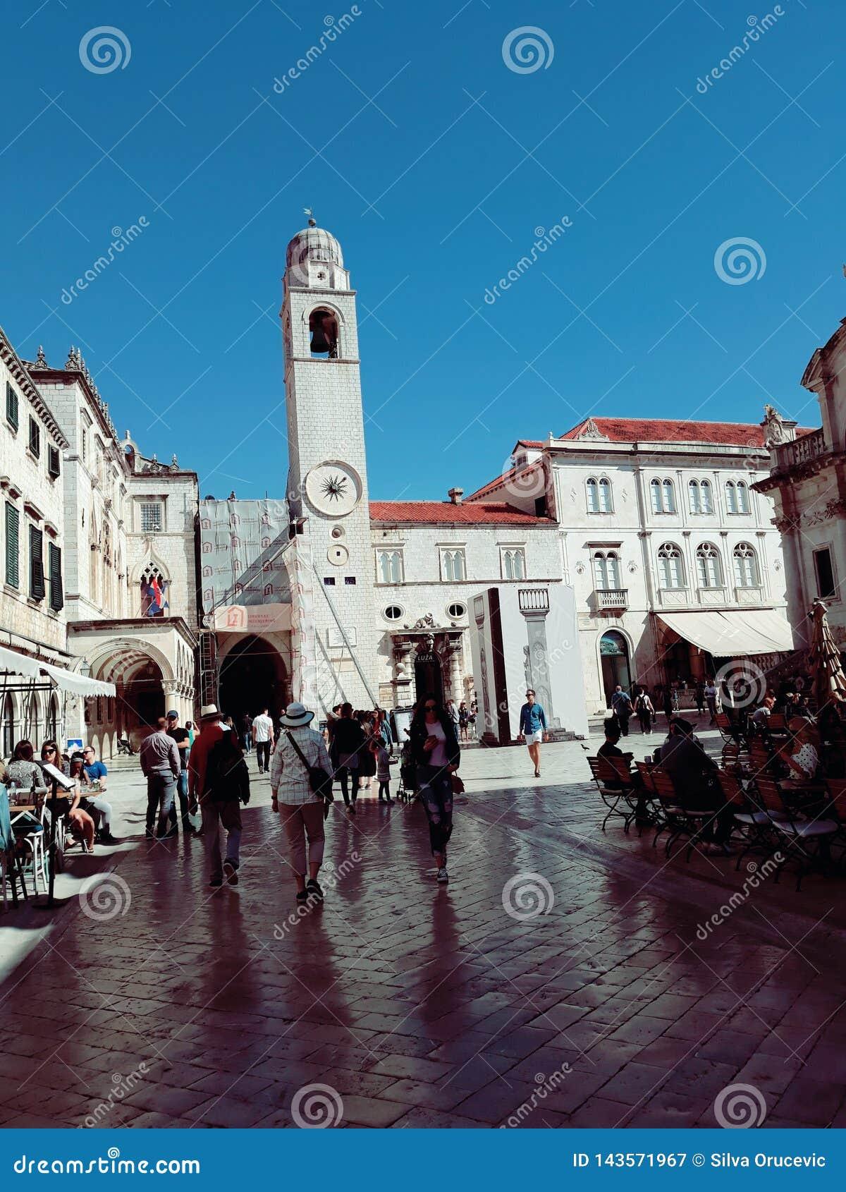 Stradun, Dubrovnik, Κροατία
