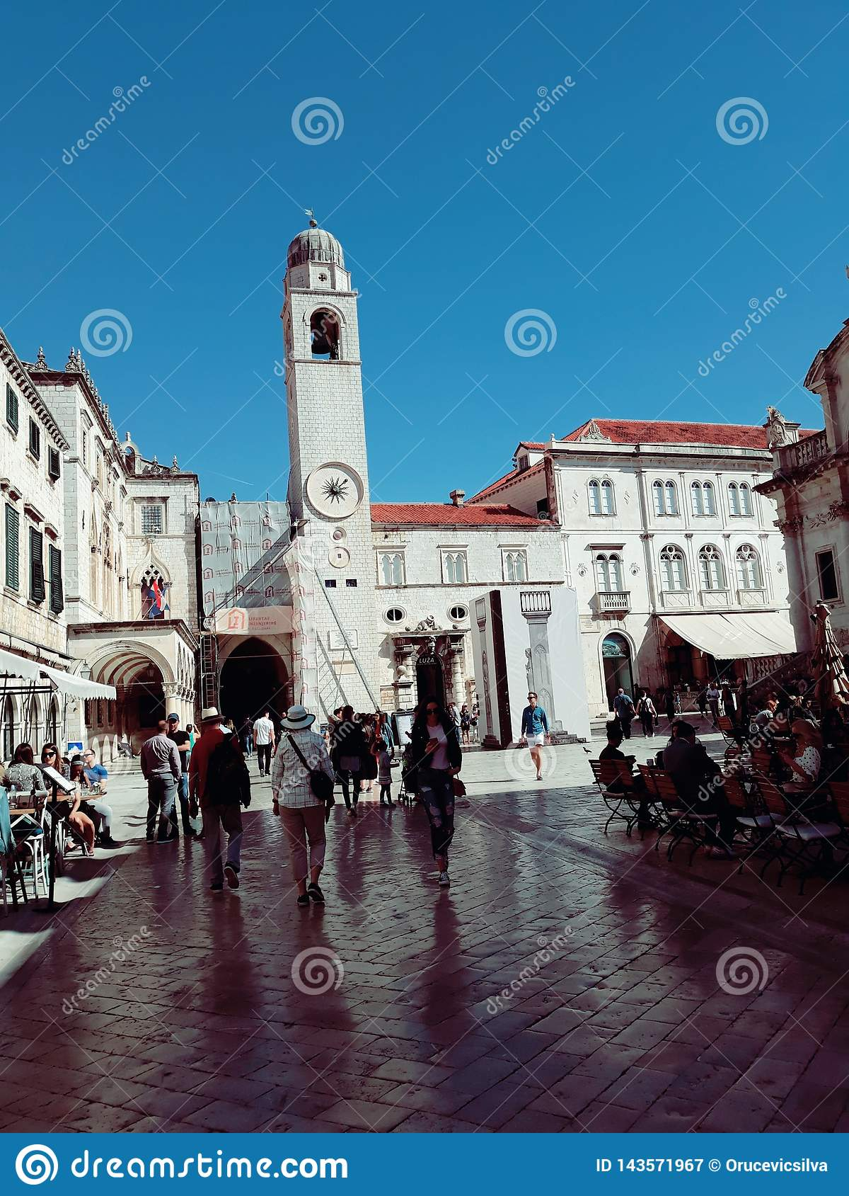 Stradun, Dubrovnik, Kroatien