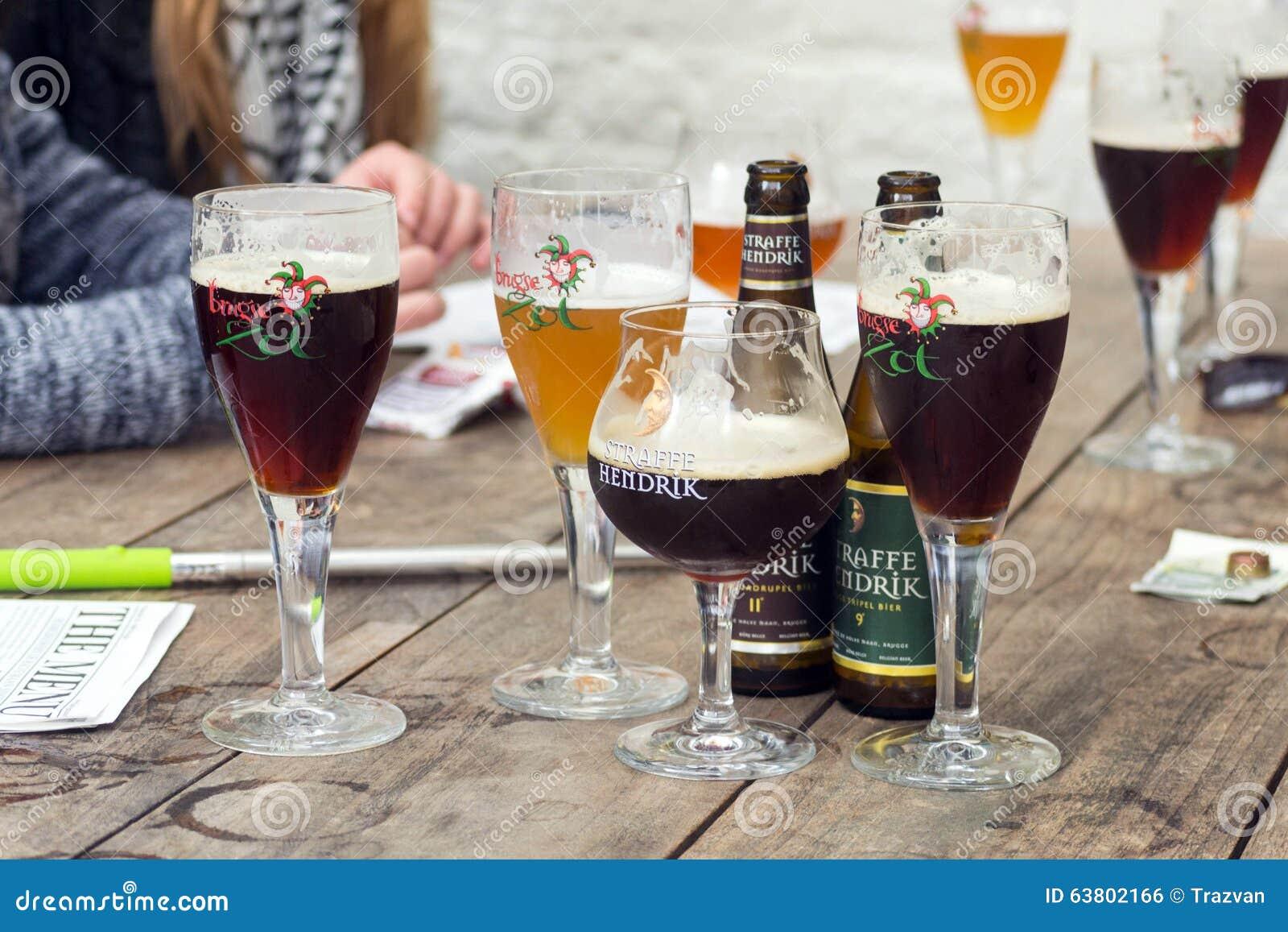 Half Moon Brewery Straffe Hendrik Belgian Beer Glass