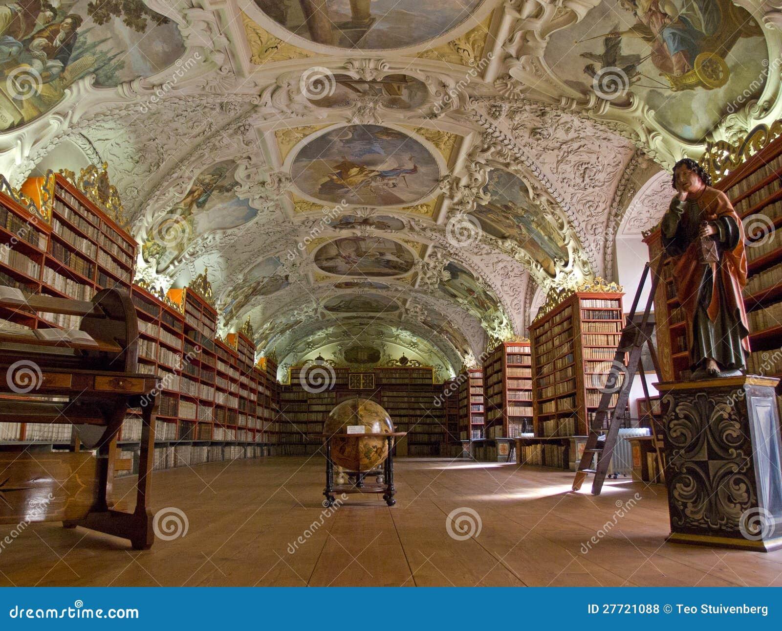 The Strahov Library In Prague