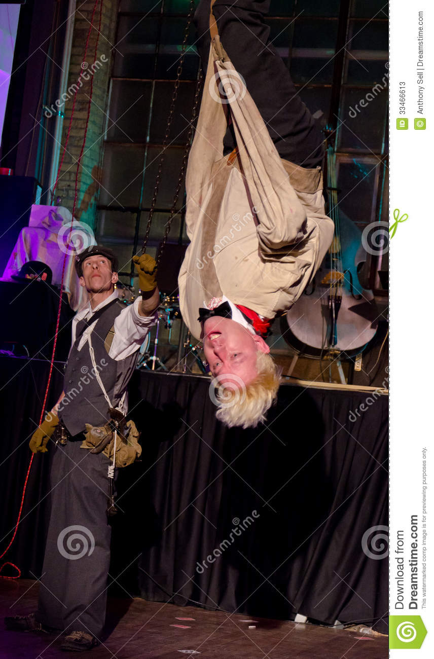 Download Straight Jacket Escape editorial stock photo. Image of host - 33466613