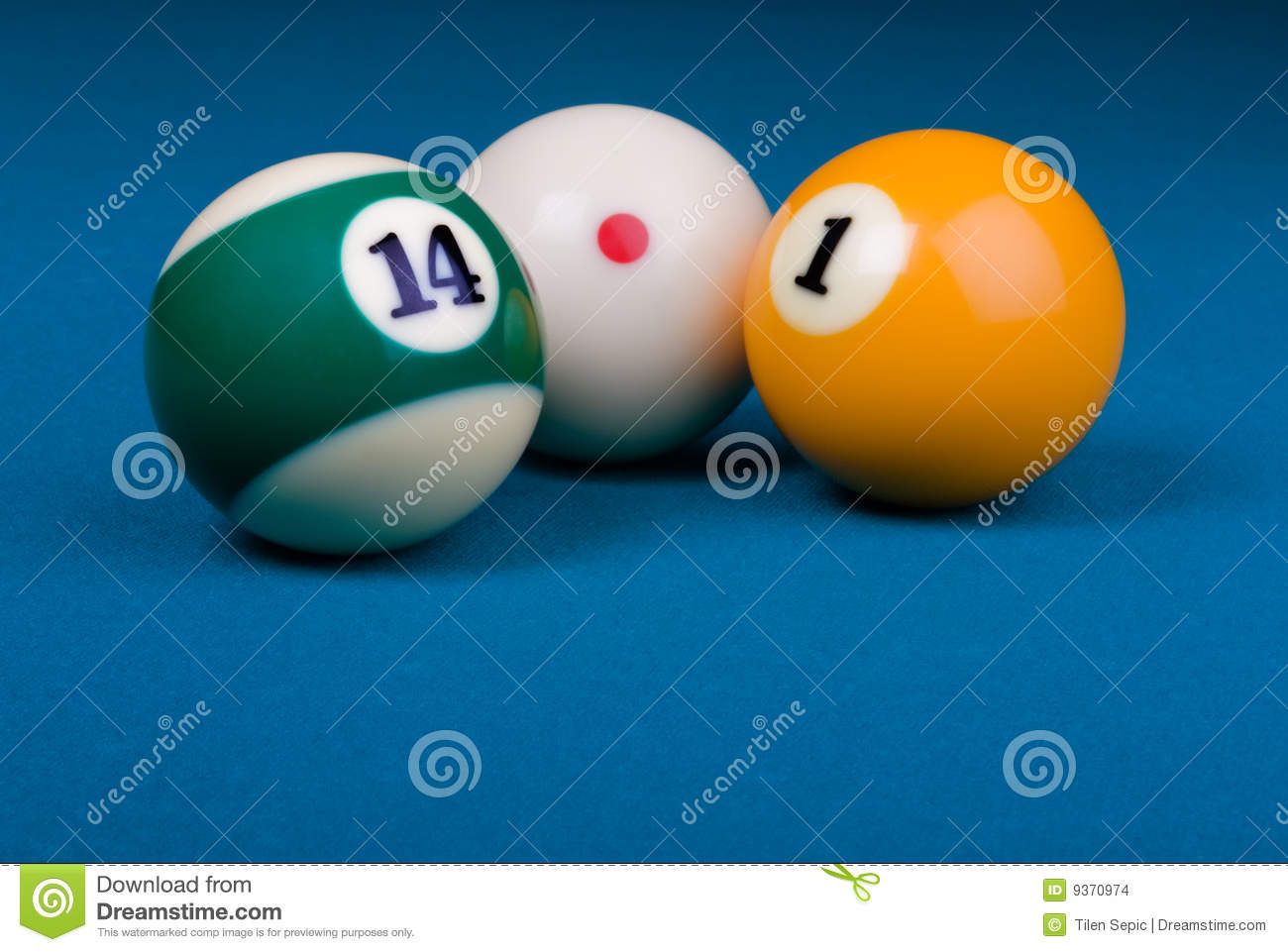 Straight pool 14 1 composition stock images image 9370974 for Pool game show