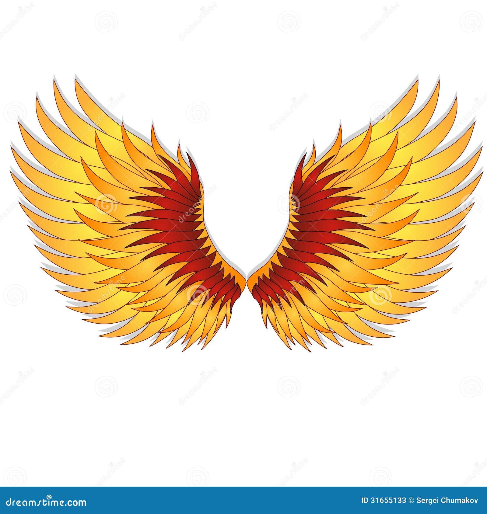 Straighten Wings Of The Phoenix Stock Photos Image