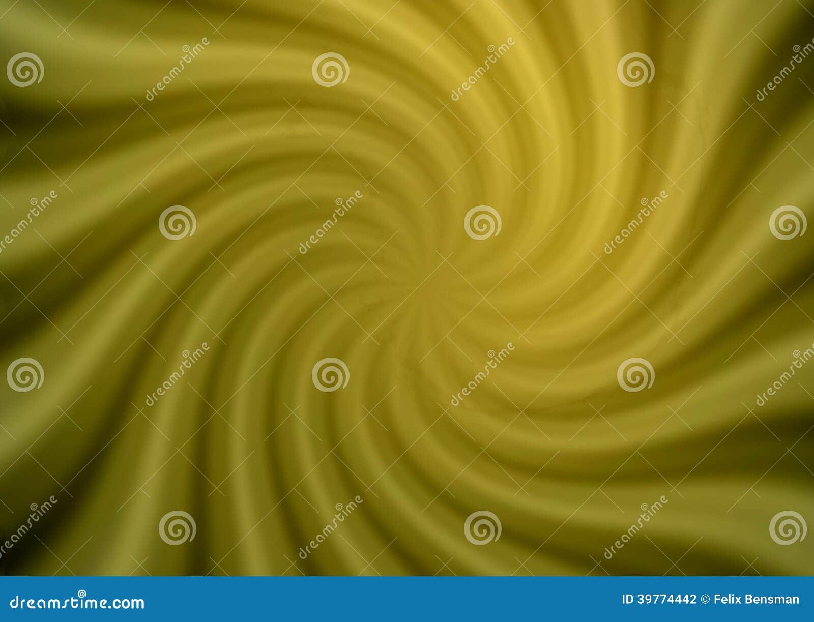 Stralen in abstract groen heelal
