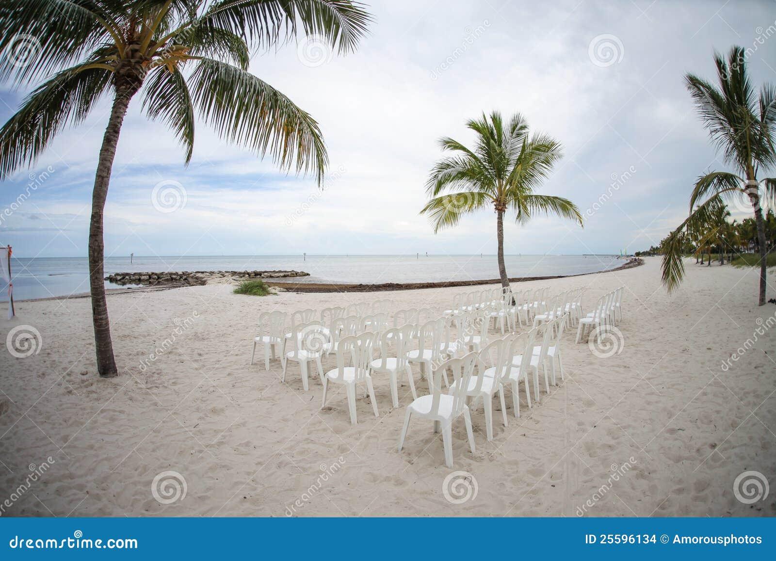 Strand betriebsbereit zur Zeremonie