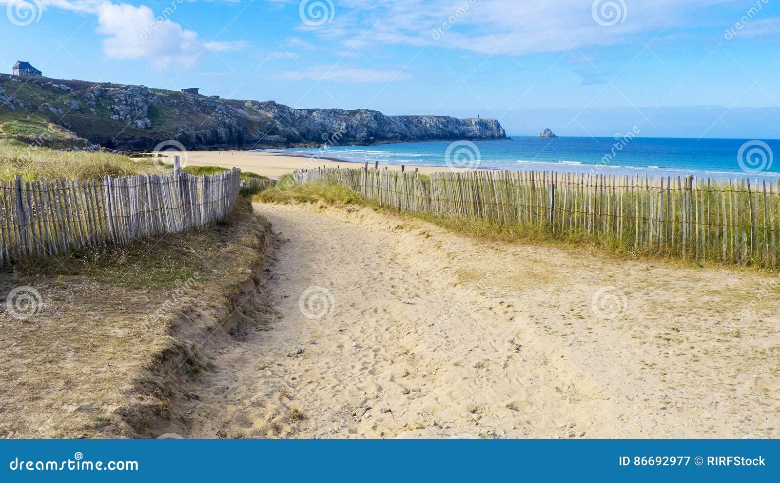 Strand camaret-sur-MER Frankrijk
