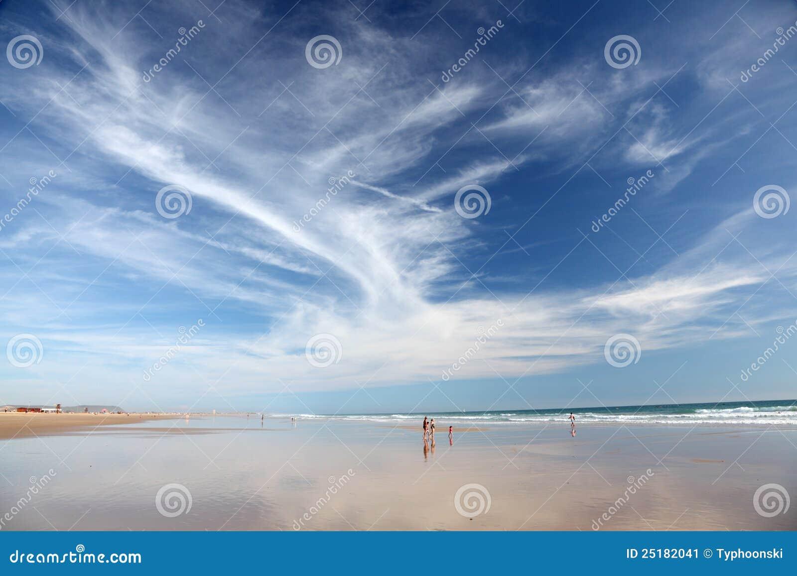 Strand in Costa de la Luz, Spanje