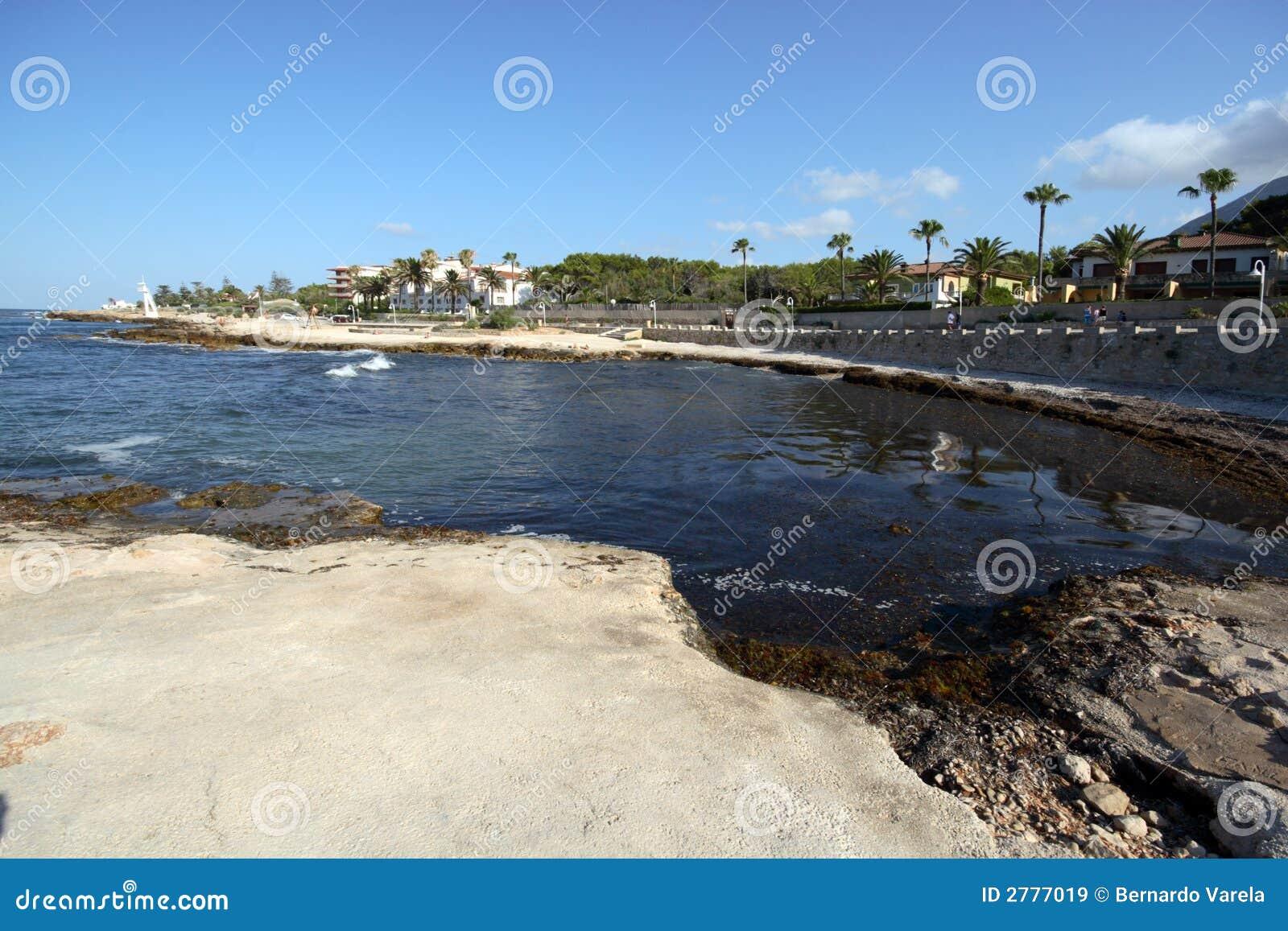 Strand in Denia