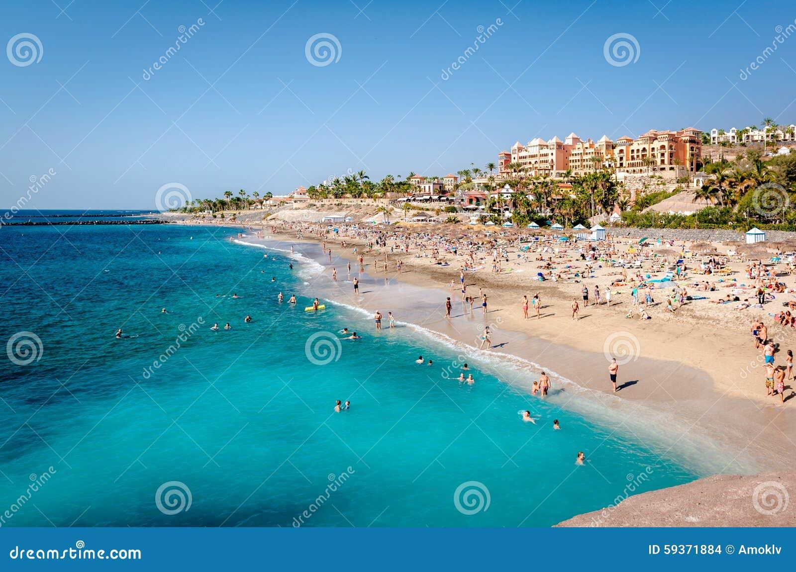 Strand för El Duque