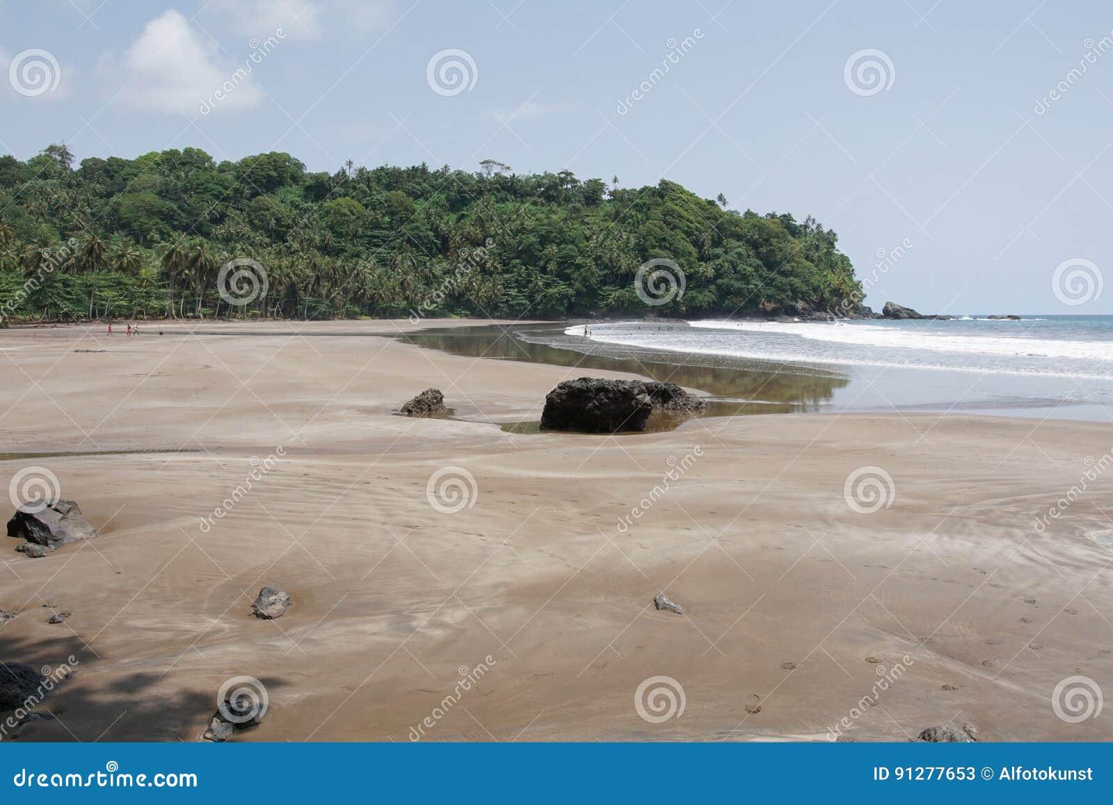 Strand för sju våg, São Tomé och Príncipe