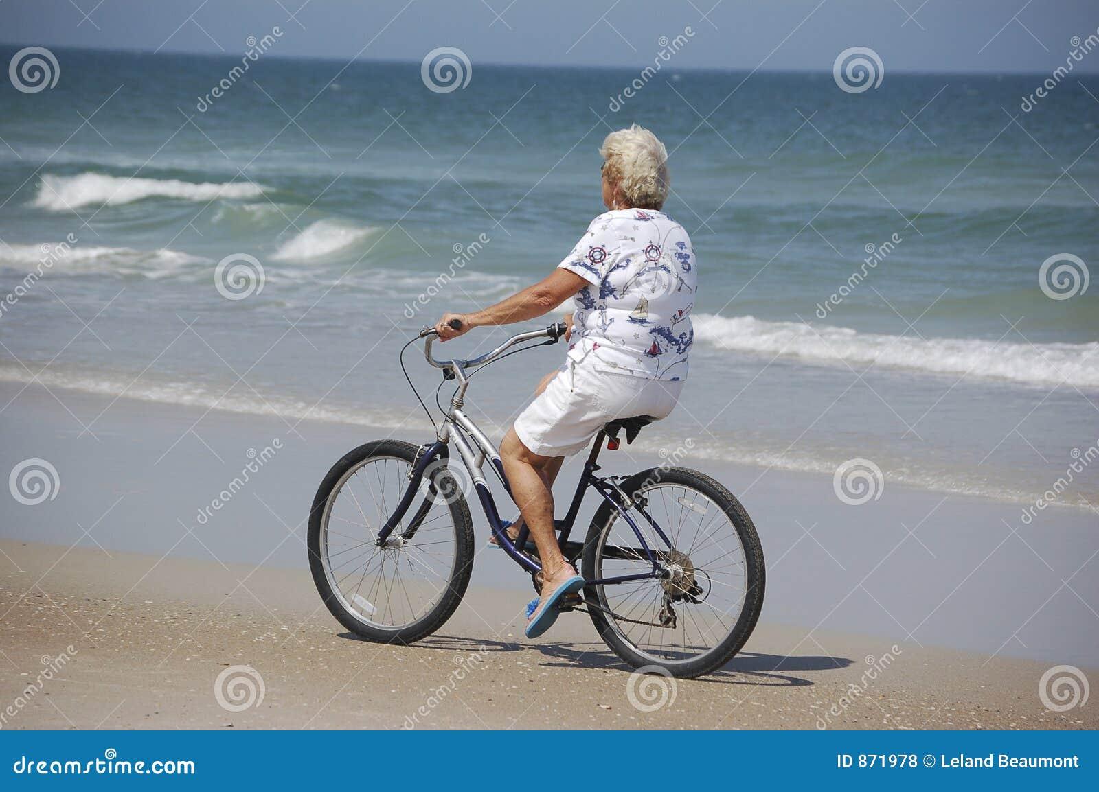 Strand-Fahrrad