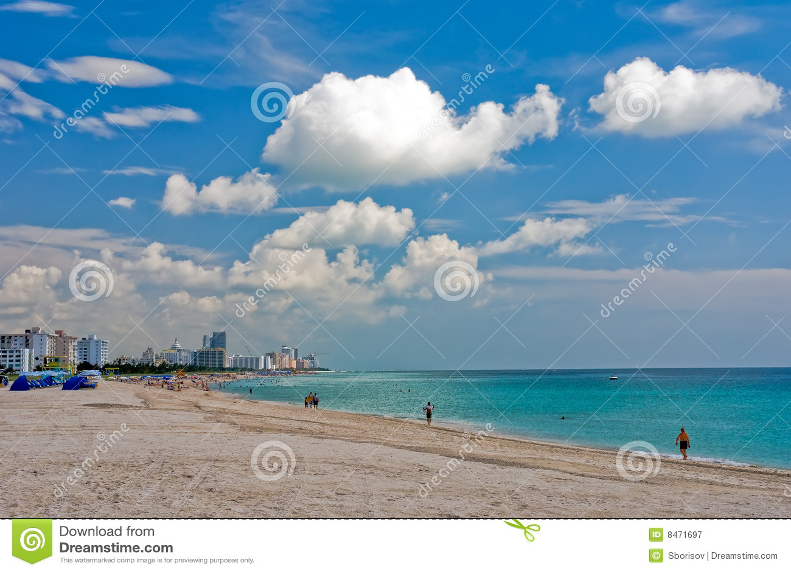 Strand florida södra miami