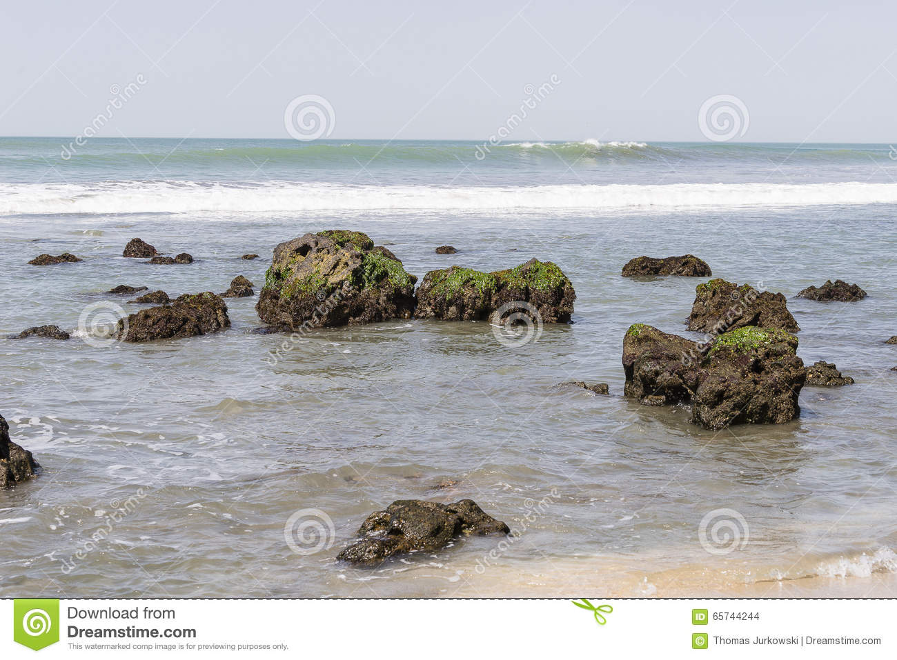 Strand in Gambia