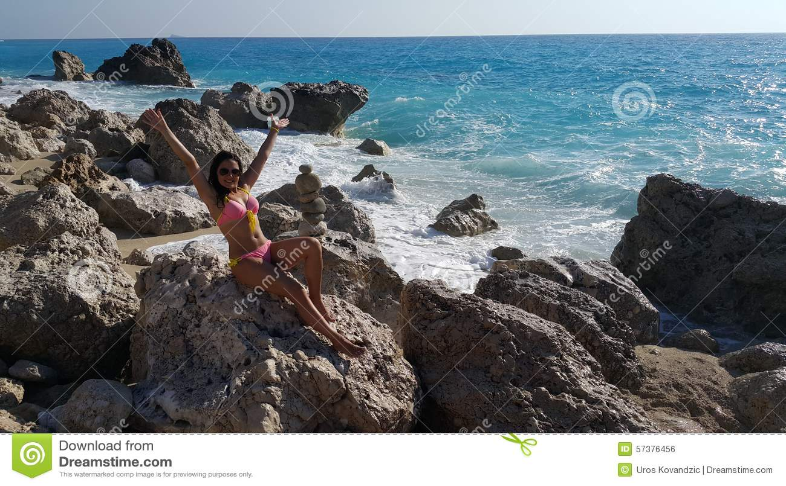 Strand in Griekenland