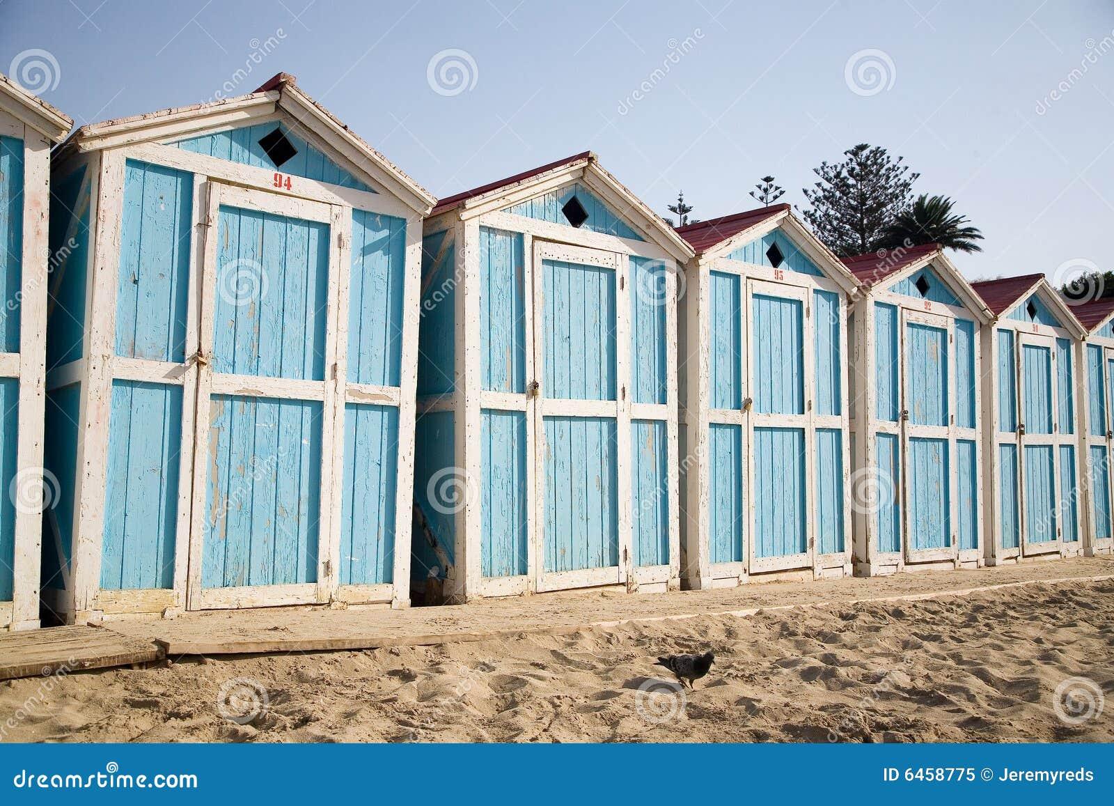 Strand-Hütten
