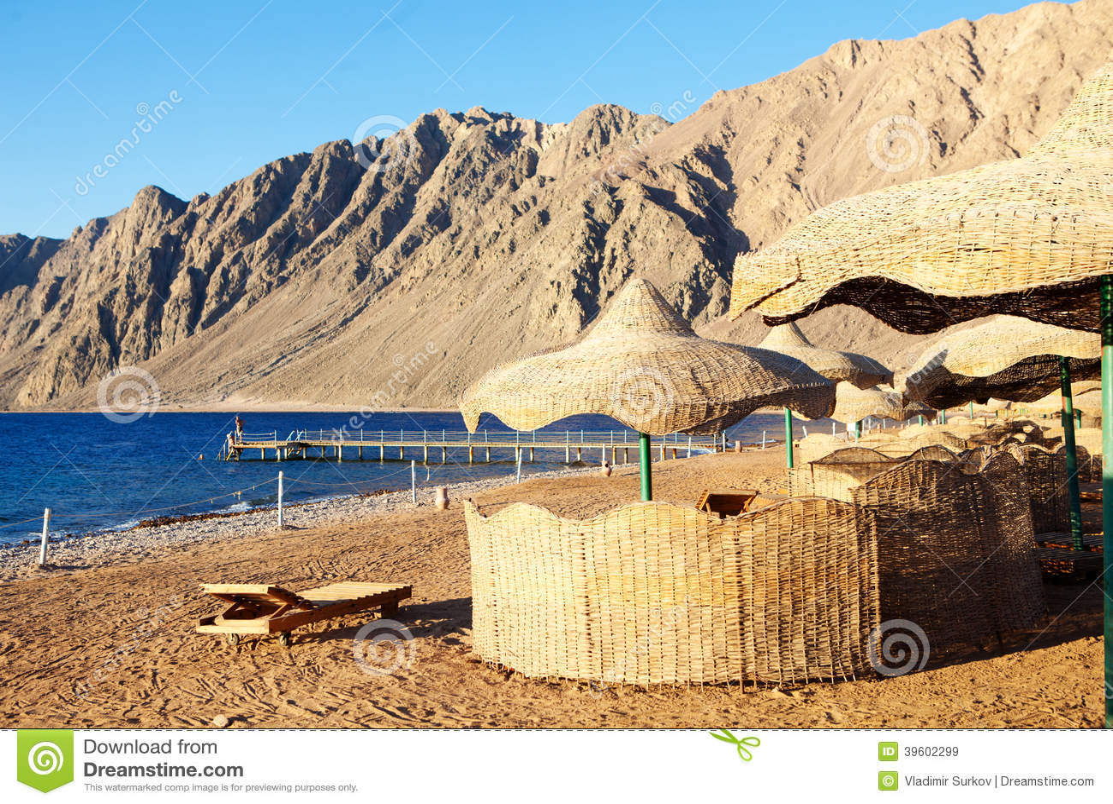 Strand i Egypten