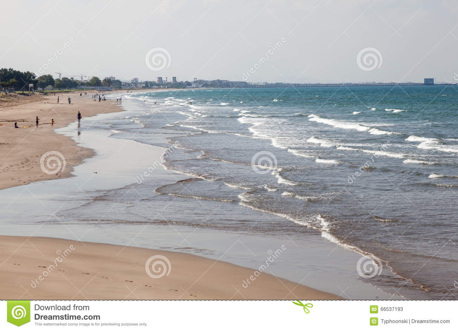 Strand i Muscat, Oman
