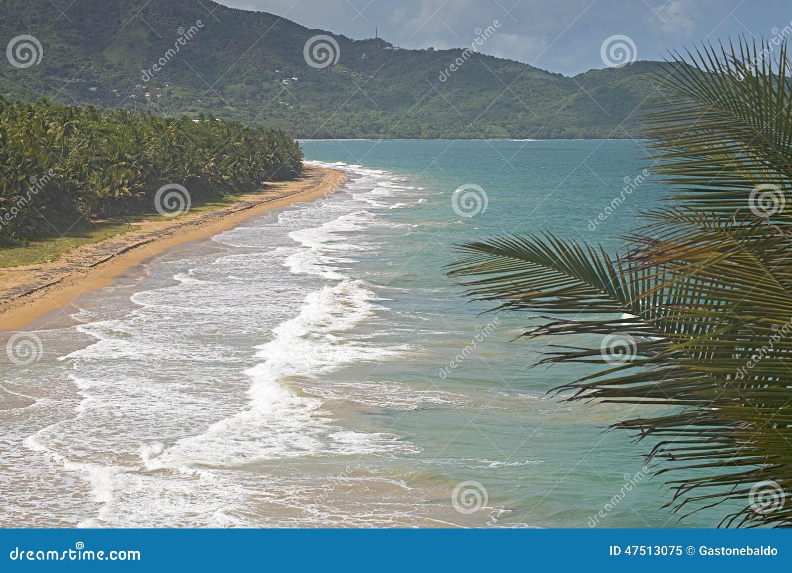 Strand i Patillas, Puerto Rico