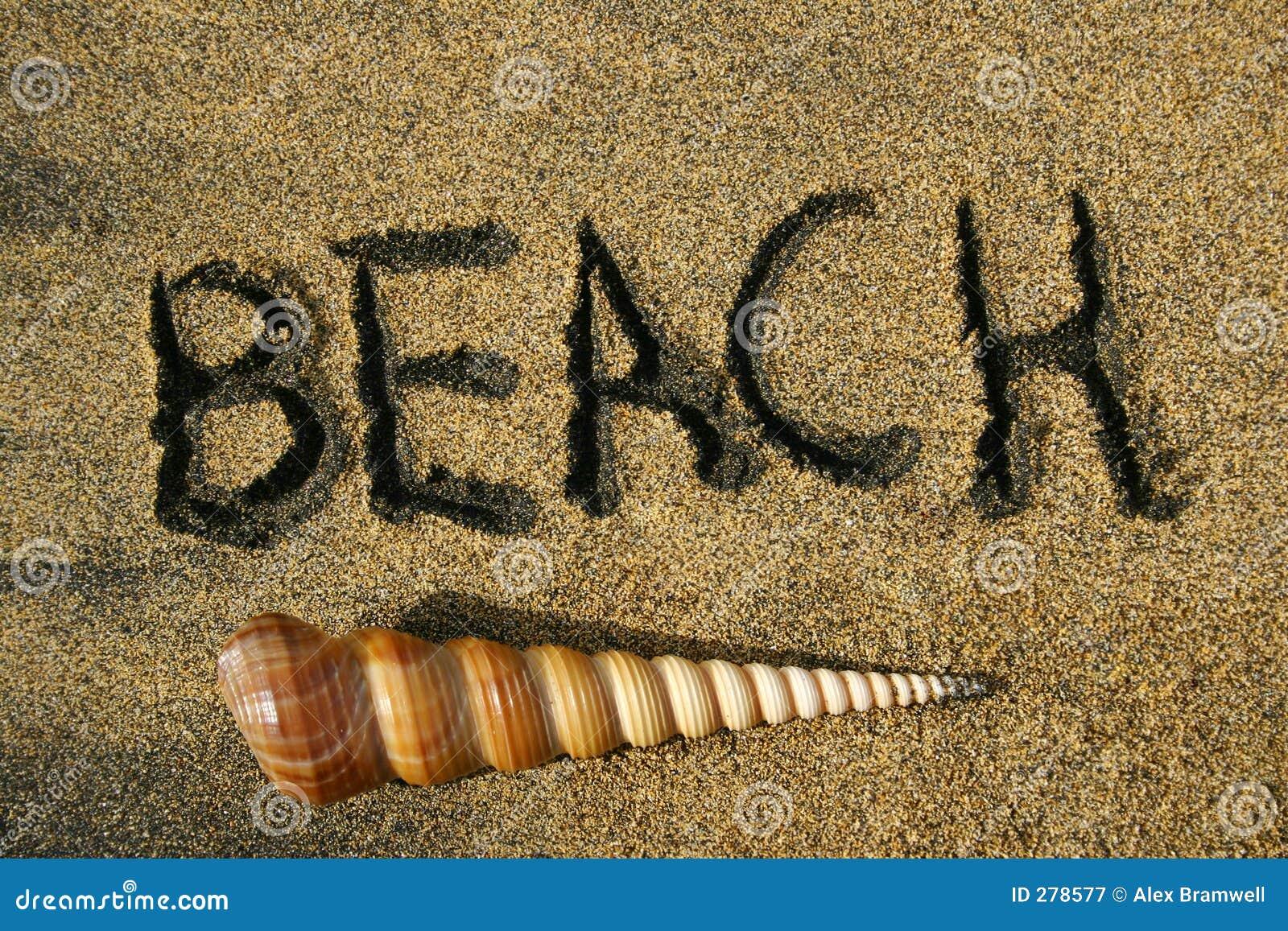 Strand långt