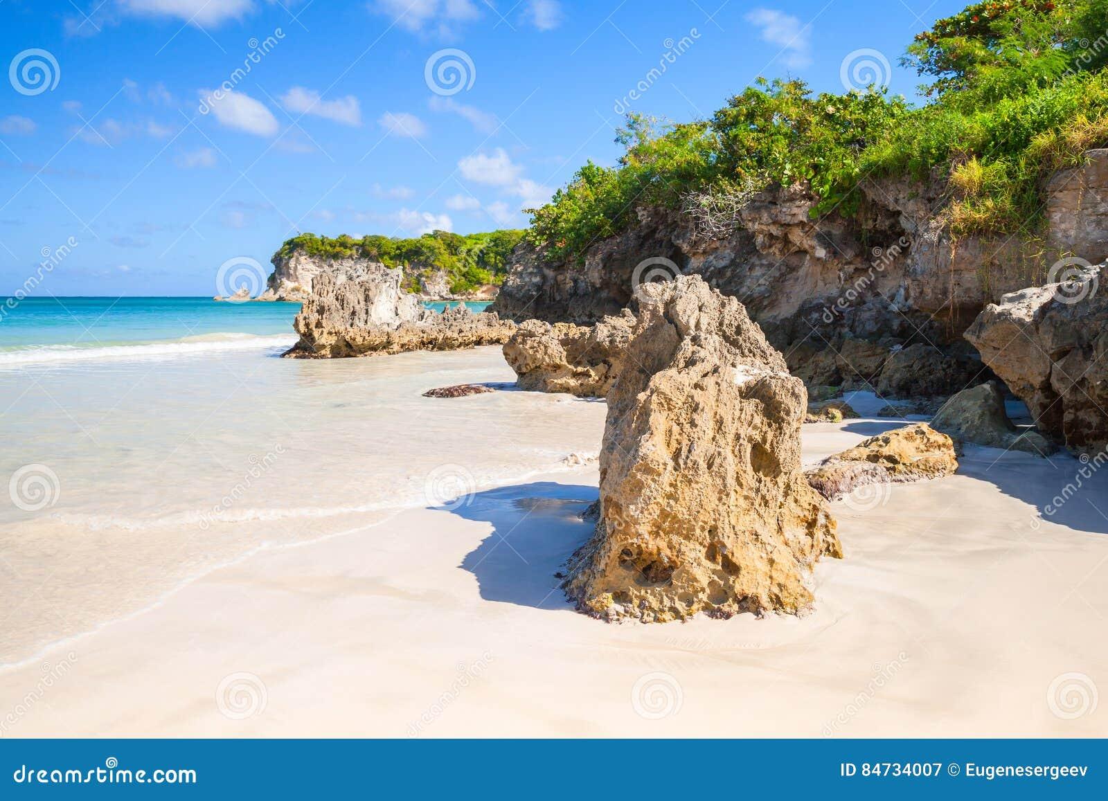 Strand, landschap van Dominicaanse Republiek