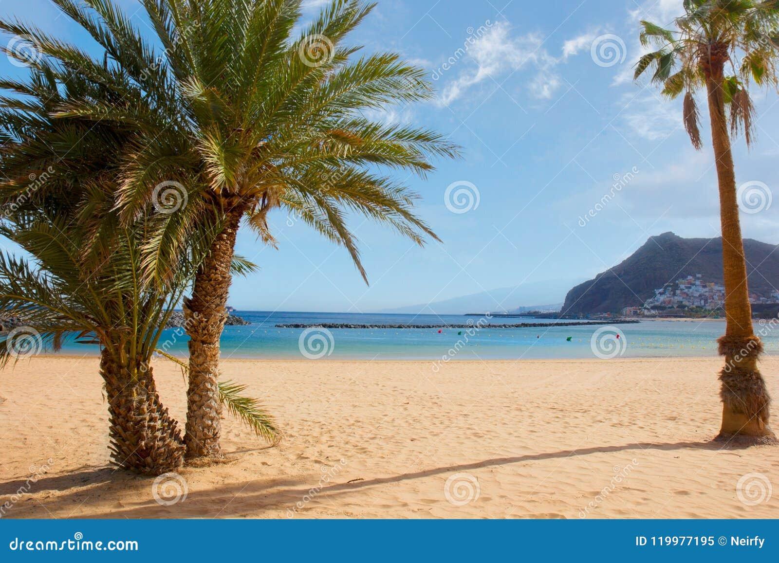 Strand las Teresitas, Tenerife